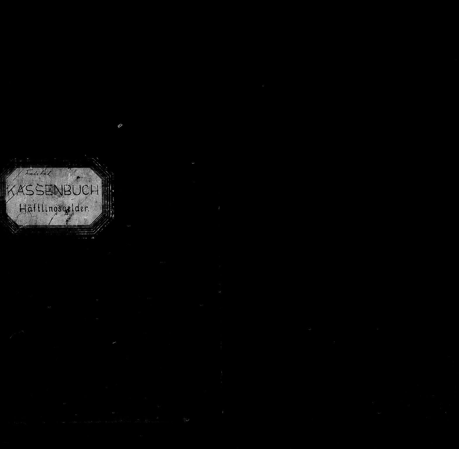 RA, Befehlshaber der Sicherheitspolizei und des SD, F/Fc/L0014: Falstad -  Kasenbuch -  Häftligsgelder , 1941-1945