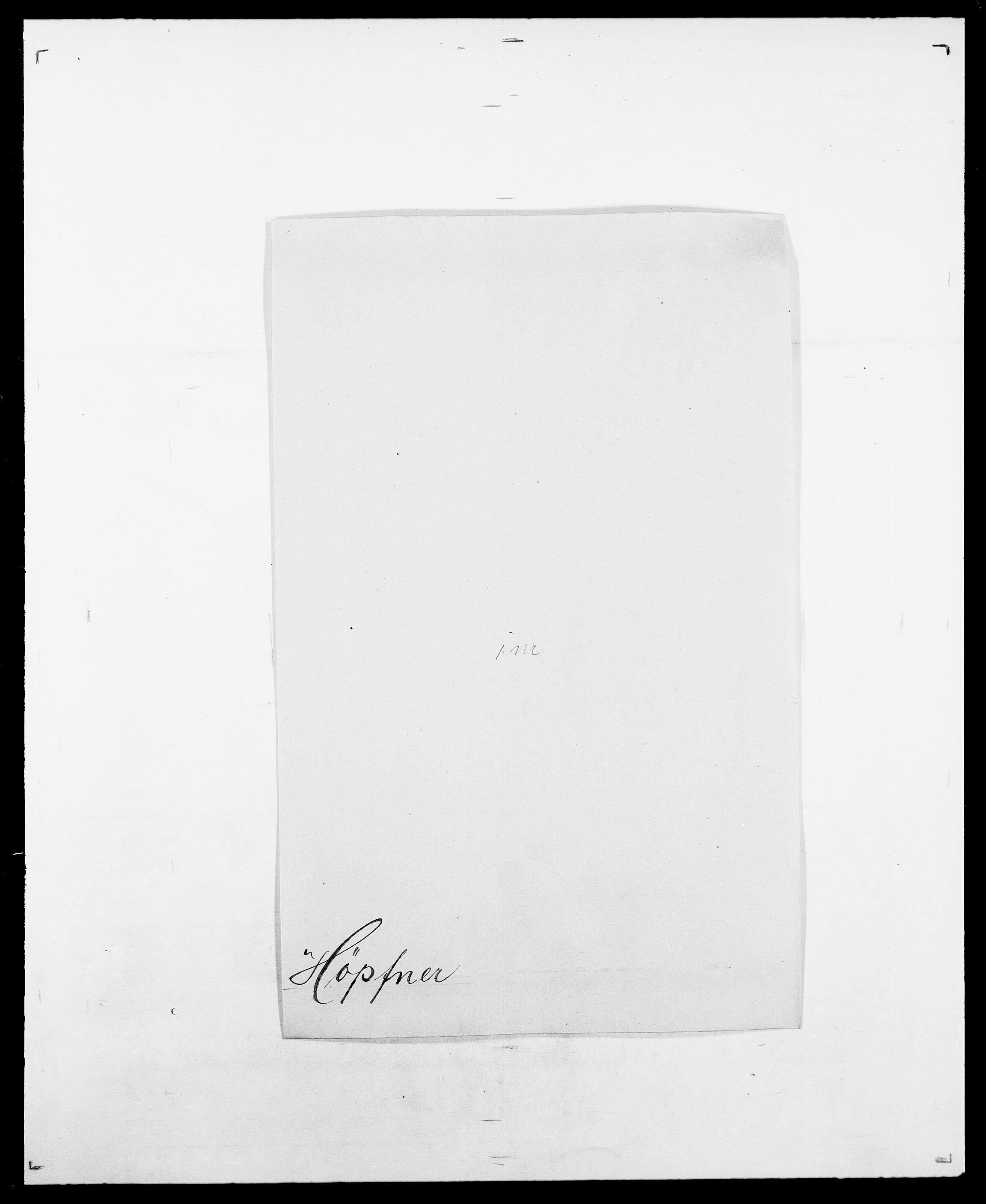 SAO, Delgobe, Charles Antoine - samling, D/Da/L0019: van der Hude - Joys, s. 371