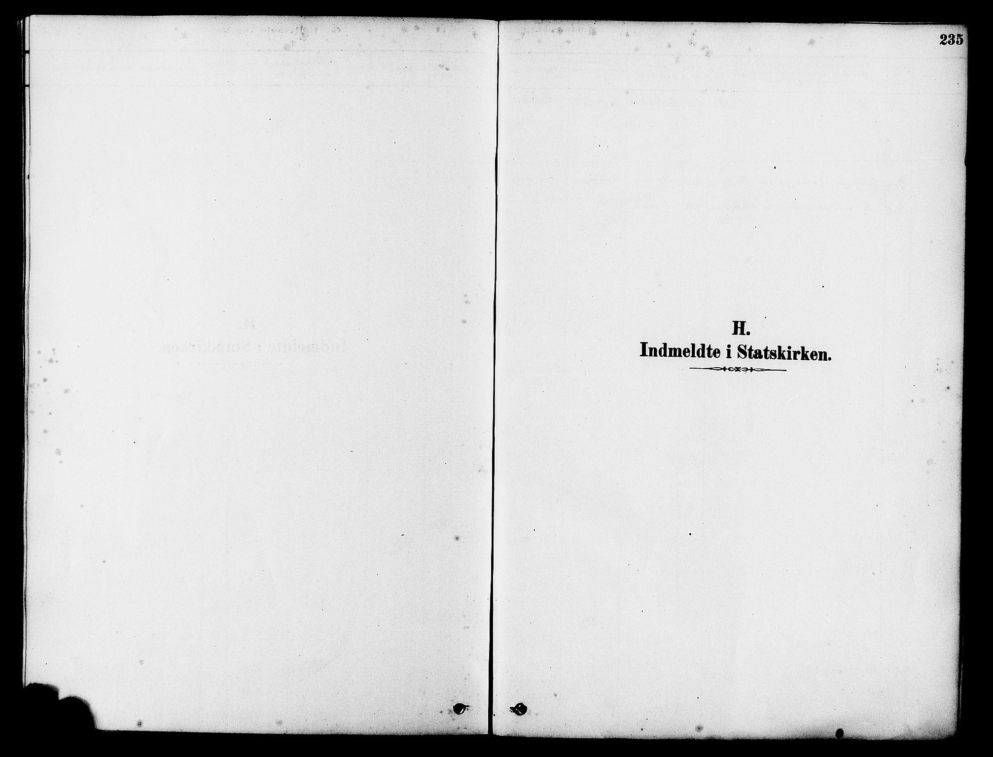 SAST, Tysvær sokneprestkontor, H/Ha/Haa/L0006: Ministerialbok nr. A 6, 1878-1896, s. 235