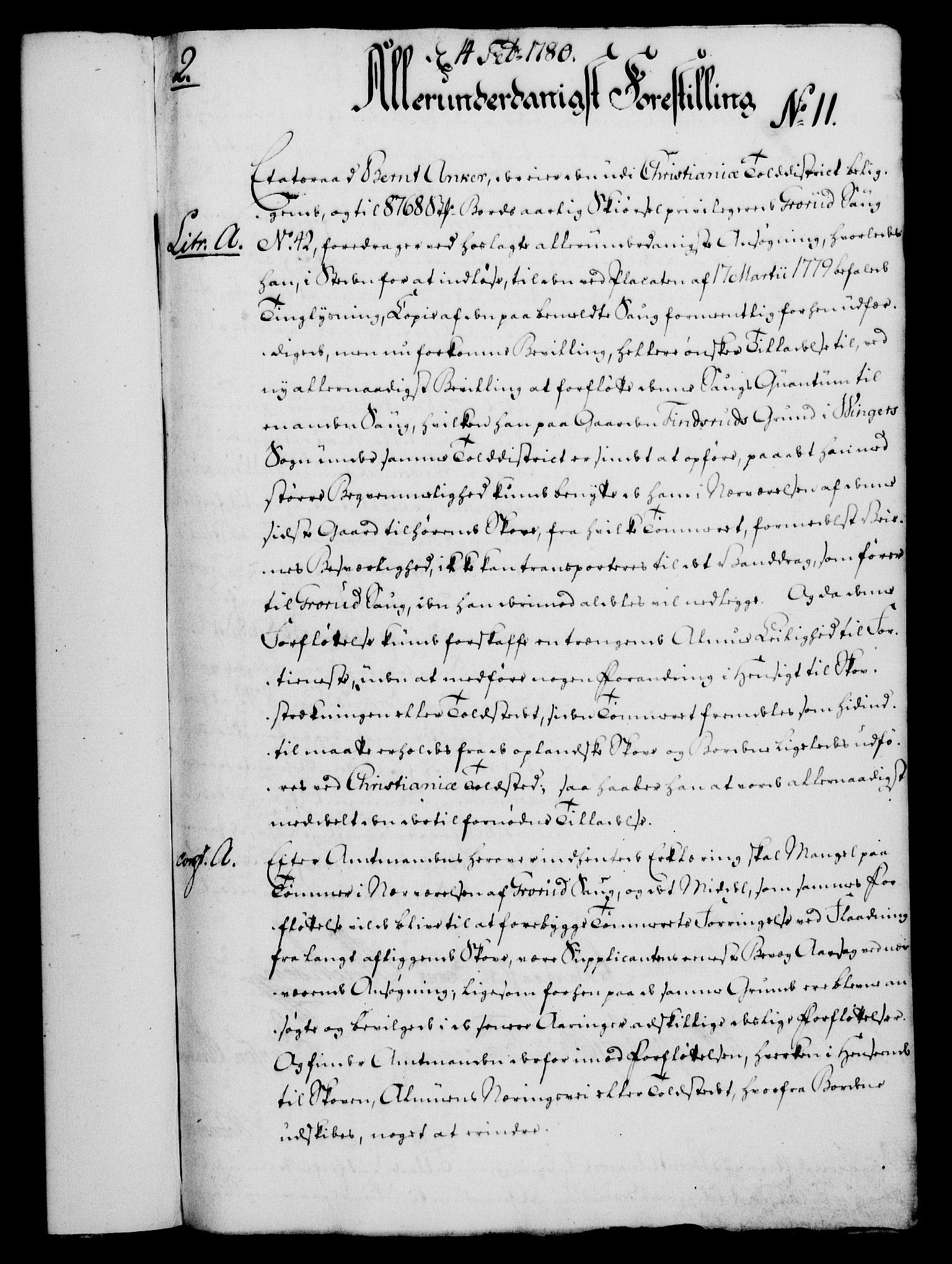 RA, Rentekammeret, Kammerkanselliet, G/Gf/Gfa/L0062: Norsk relasjons- og resolusjonsprotokoll (merket RK 52.62), 1780, s. 99