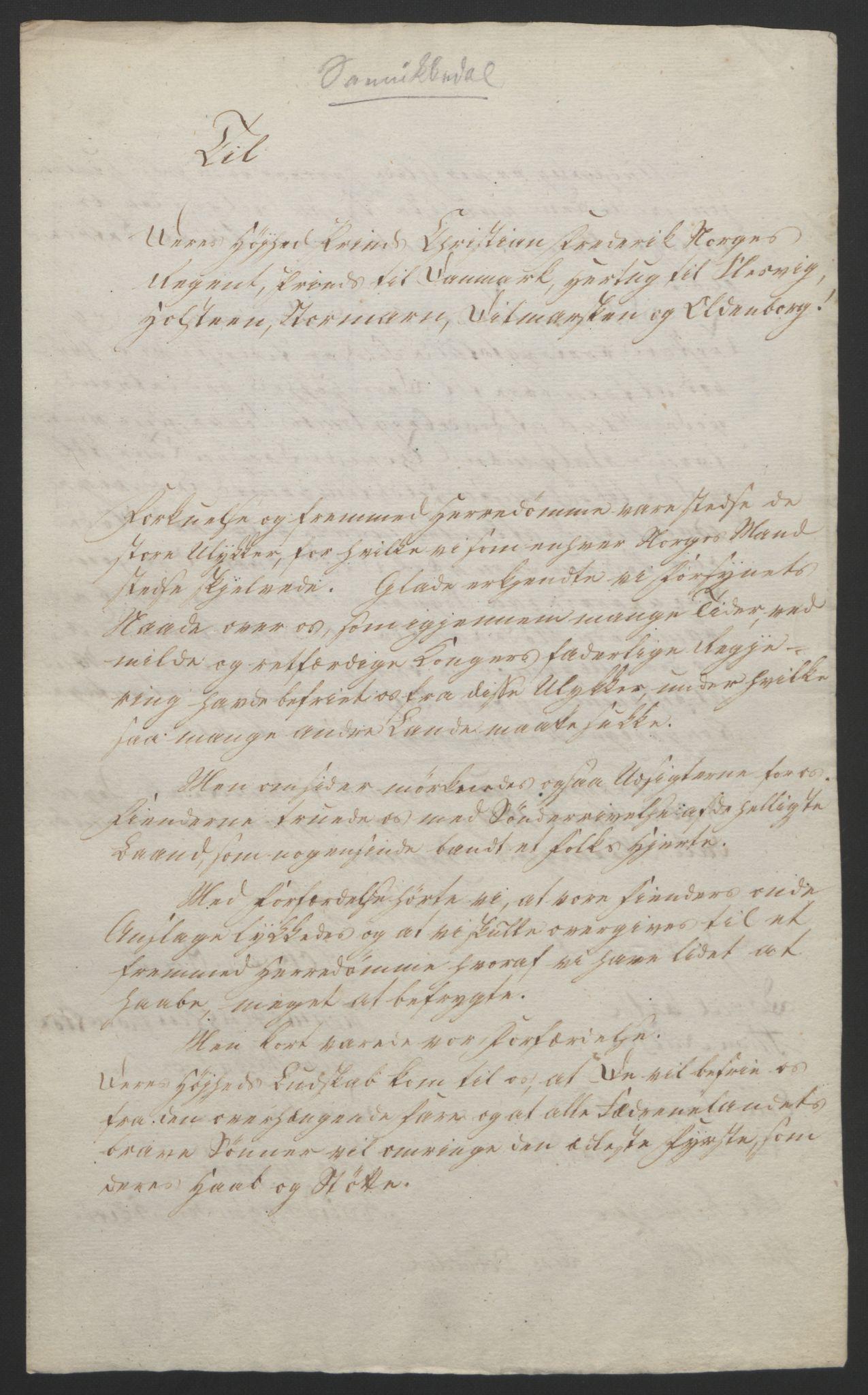 RA, Statsrådssekretariatet, D/Db/L0008: Fullmakter for Eidsvollsrepresentantene i 1814. , 1814, s. 64