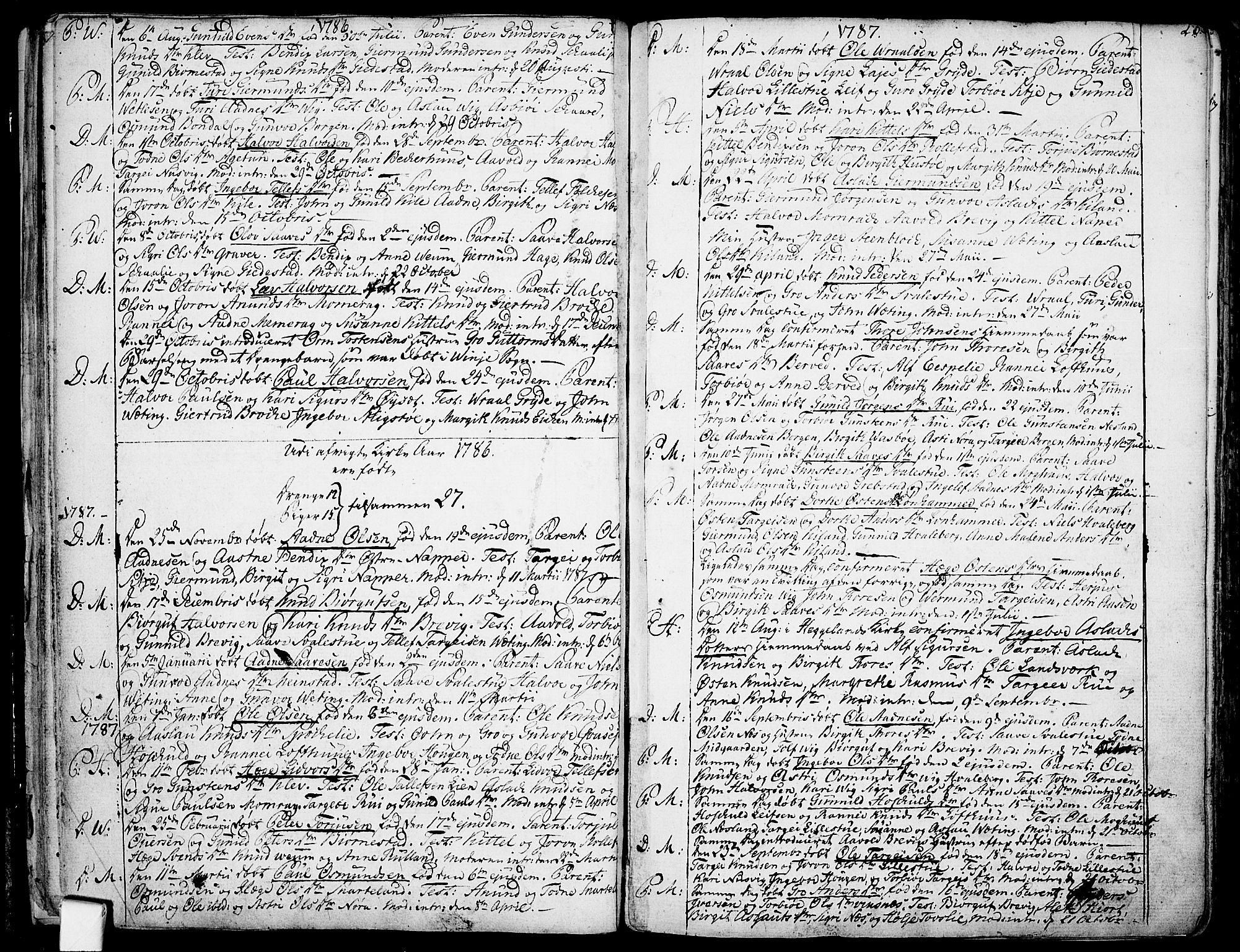 SAKO, Fyresdal kirkebøker, F/Fa/L0002: Ministerialbok nr. I 2, 1769-1814, s. 23
