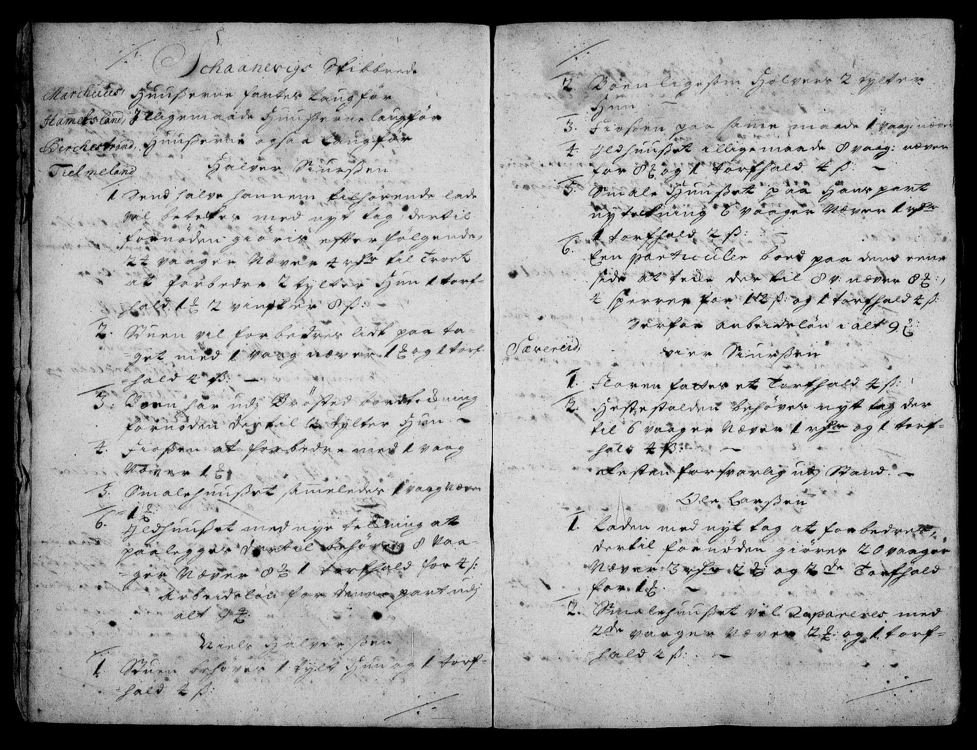 RA, Rentekammeret inntil 1814, Realistisk ordnet avdeling, On/L0003: [Jj 4]: Kommisjonsforretning over Vilhelm Hanssøns forpaktning av Halsnøy klosters gods, 1721-1729, s. 4