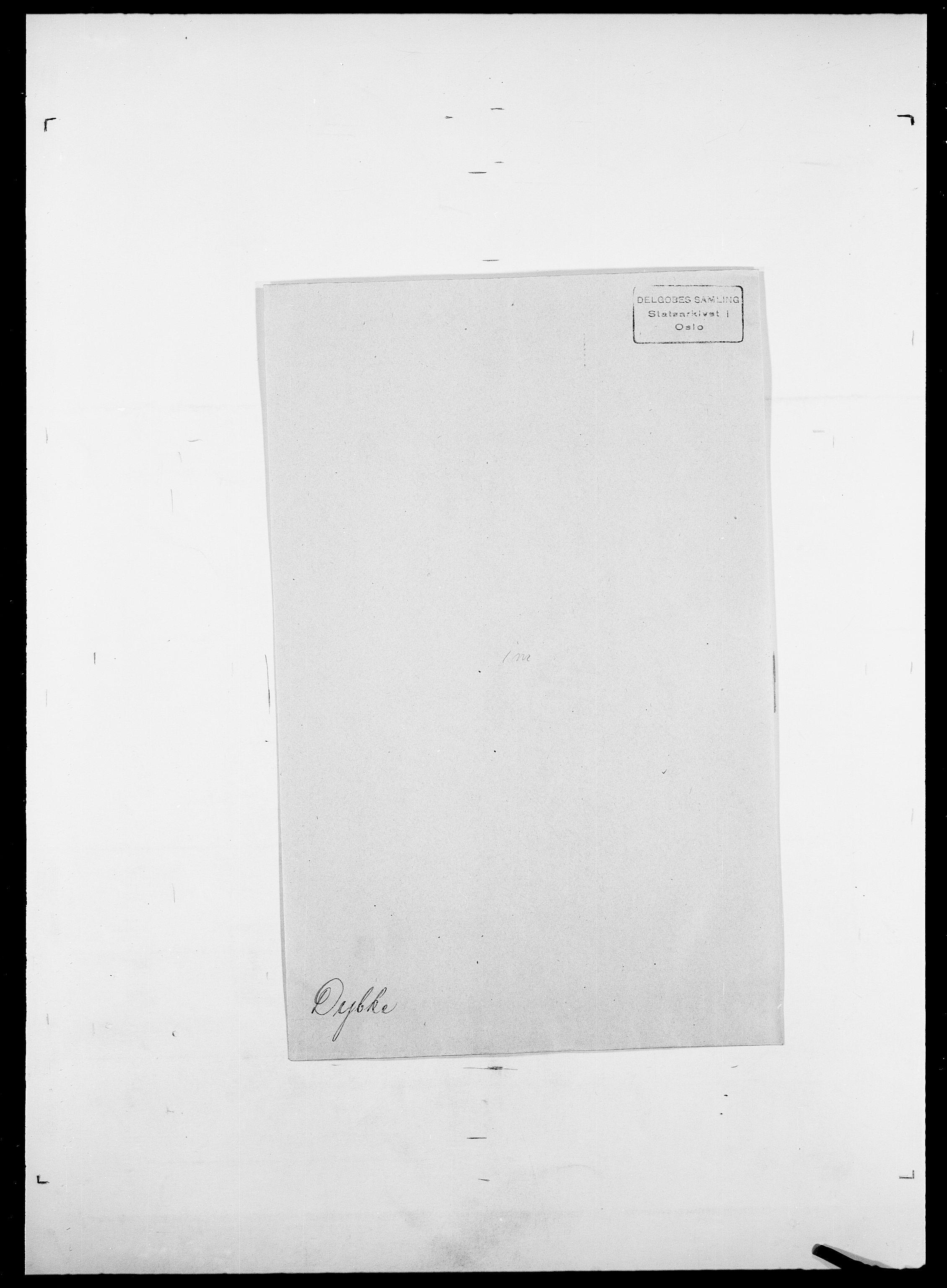 SAO, Delgobe, Charles Antoine - samling, D/Da/L0009: Dahl - v. Düren, s. 887
