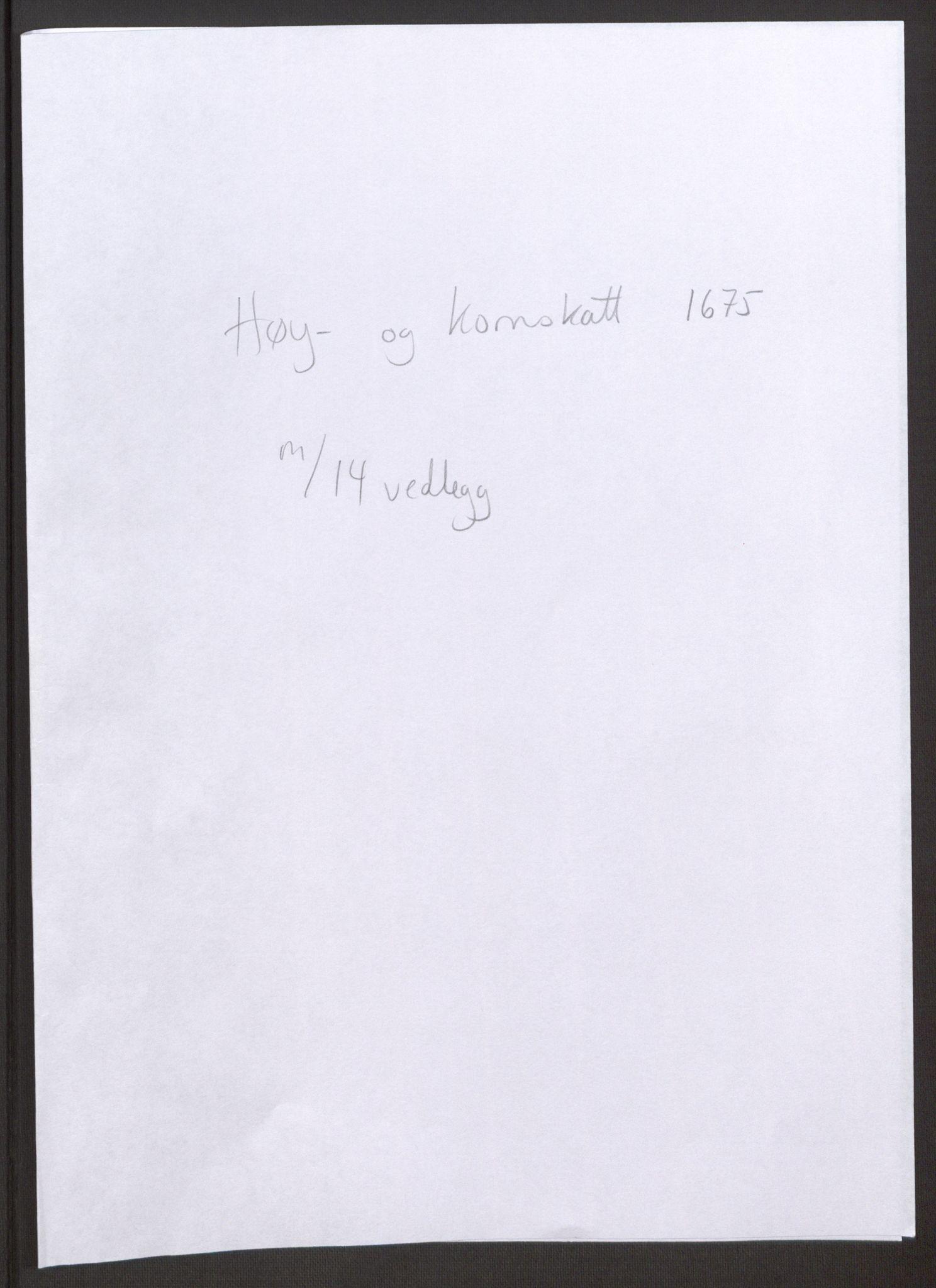 RA, Rentekammeret inntil 1814, Reviderte regnskaper, Fogderegnskap, R32/L1844: Fogderegnskap Jarlsberg grevskap, 1674-1675, s. 269