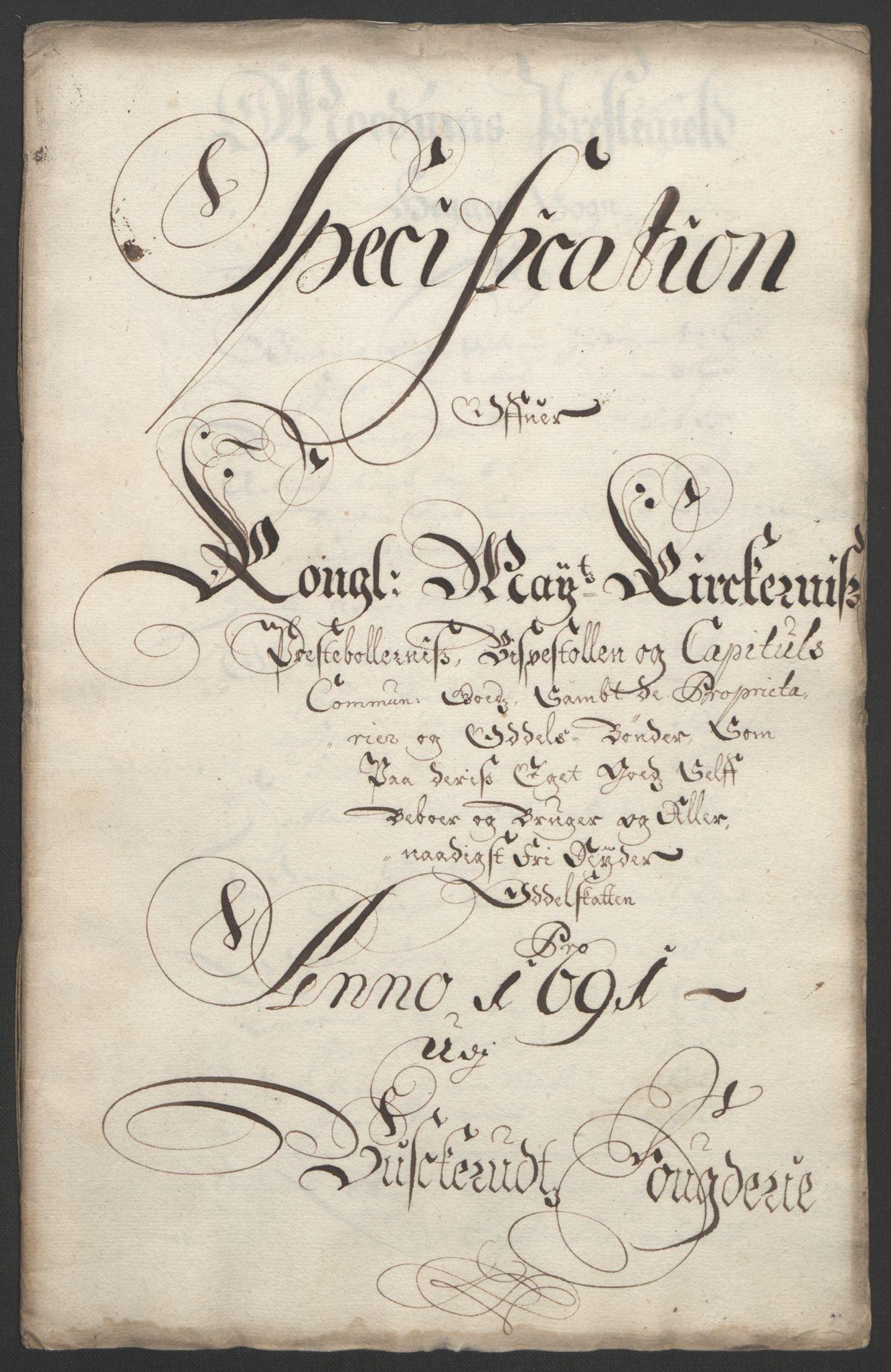 RA, Rentekammeret inntil 1814, Reviderte regnskaper, Fogderegnskap, R25/L1681: Fogderegnskap Buskerud, 1691-1692, s. 277