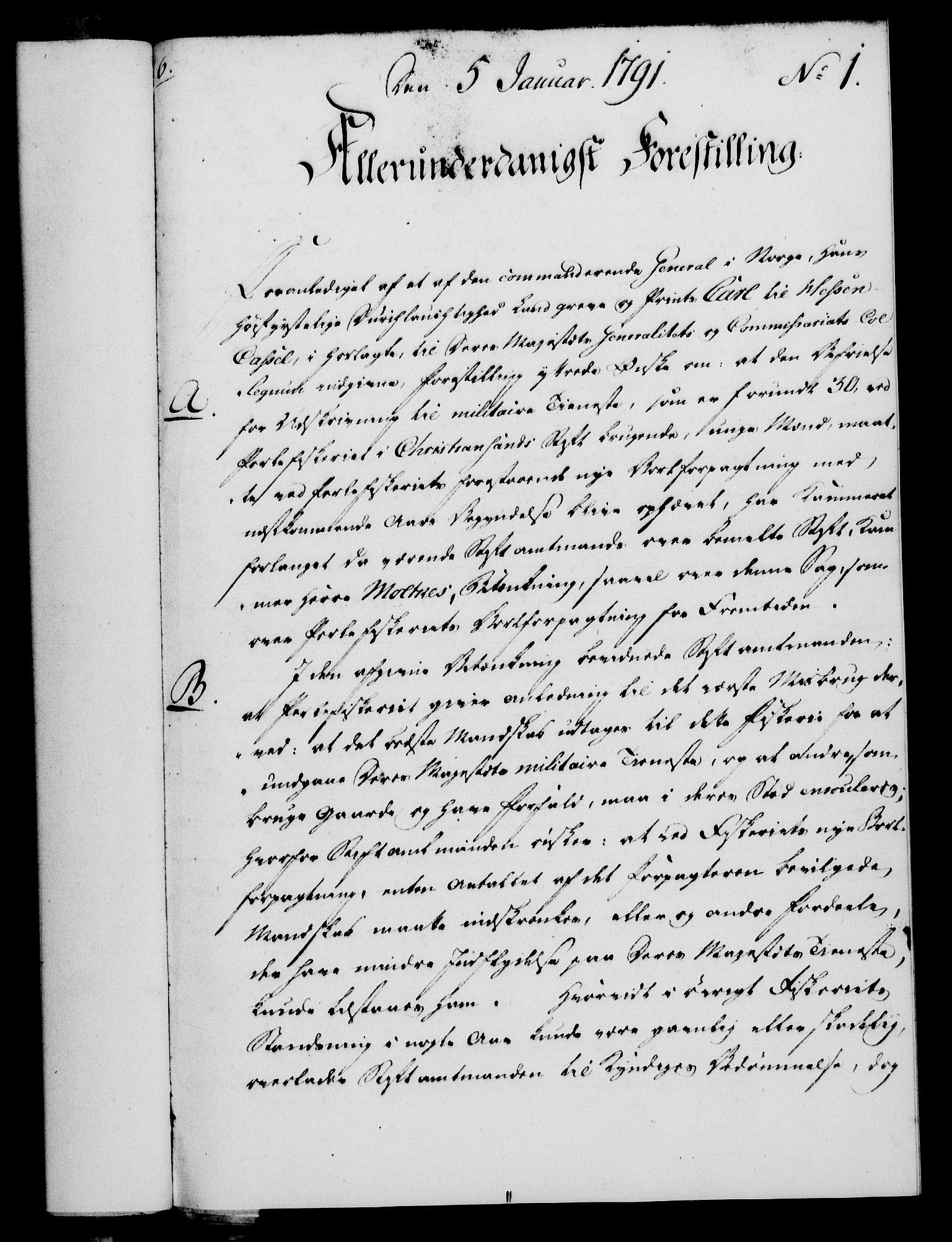 RA, Rentekammeret, Kammerkanselliet, G/Gf/Gfa/L0073: Norsk relasjons- og resolusjonsprotokoll (merket RK 52.73), 1791, s. 28