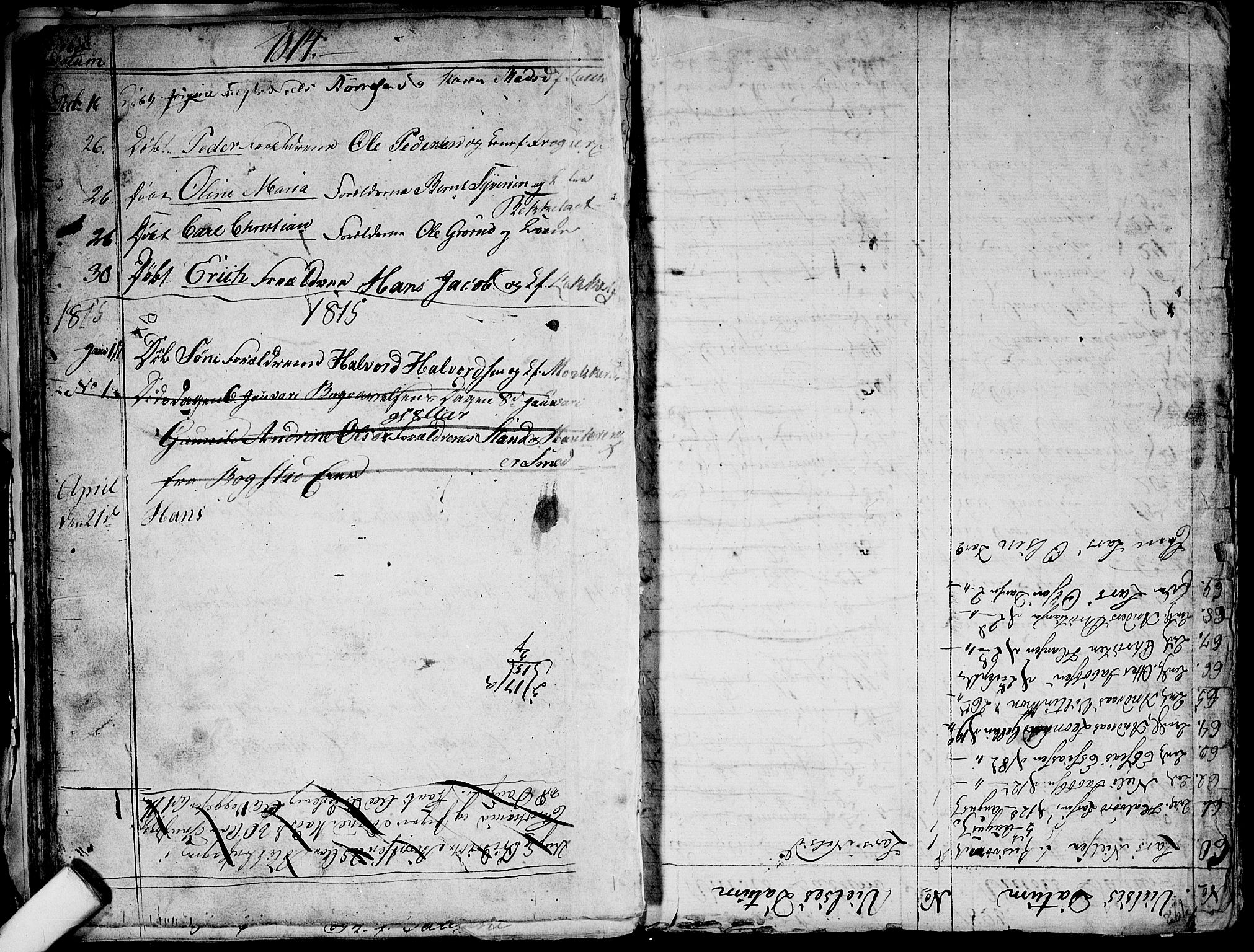 SAO, Aker prestekontor kirkebøker, G/L0001: Klokkerbok nr. 1, 1796-1826, s. 64-65