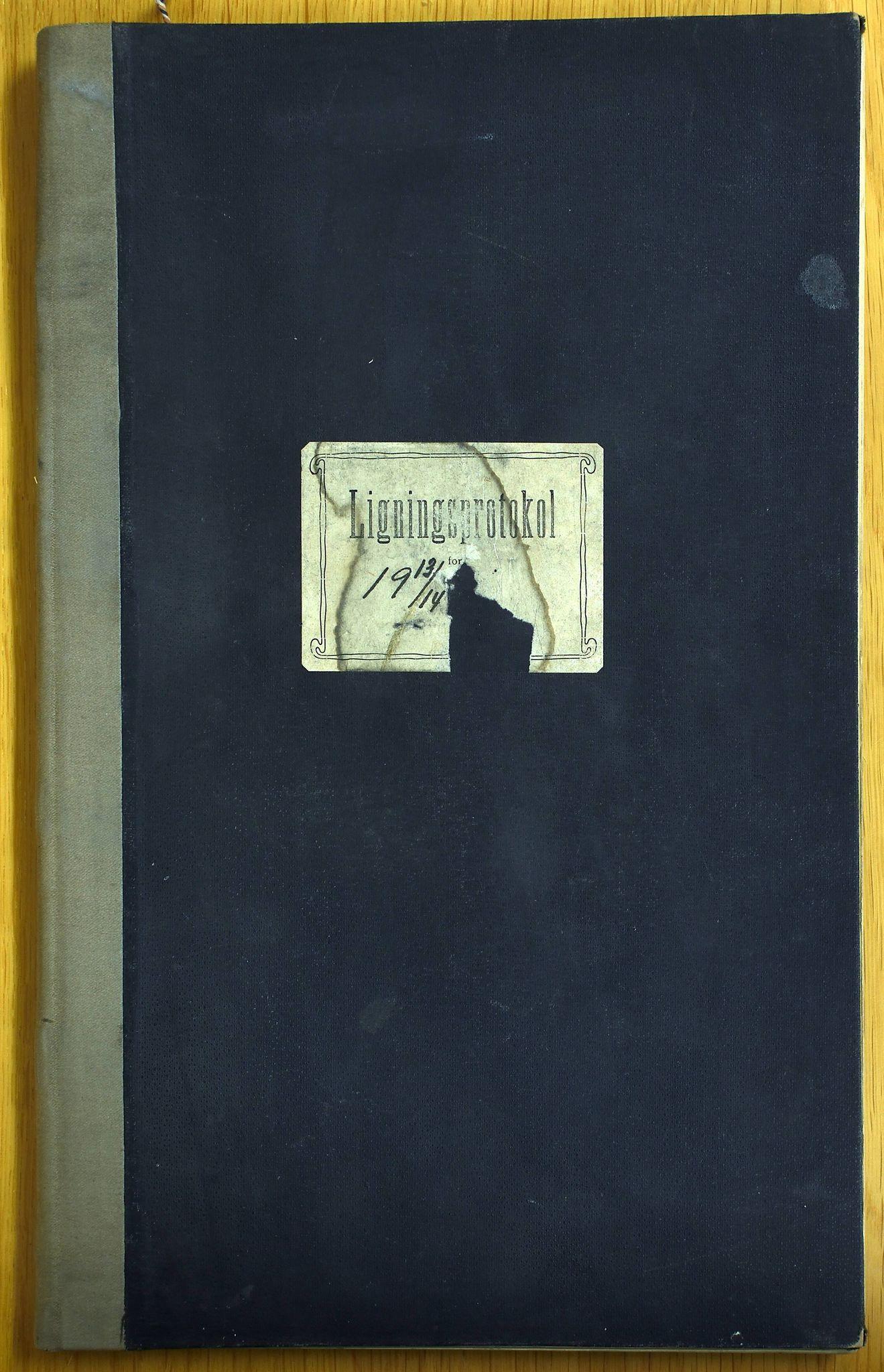 KVT, Vestre Toten kommunearkiv: Avskrift av ligningsprotokollen for budsjettåret 1913-1914 for Vestre Toten skattedistrikt, 1913-1914