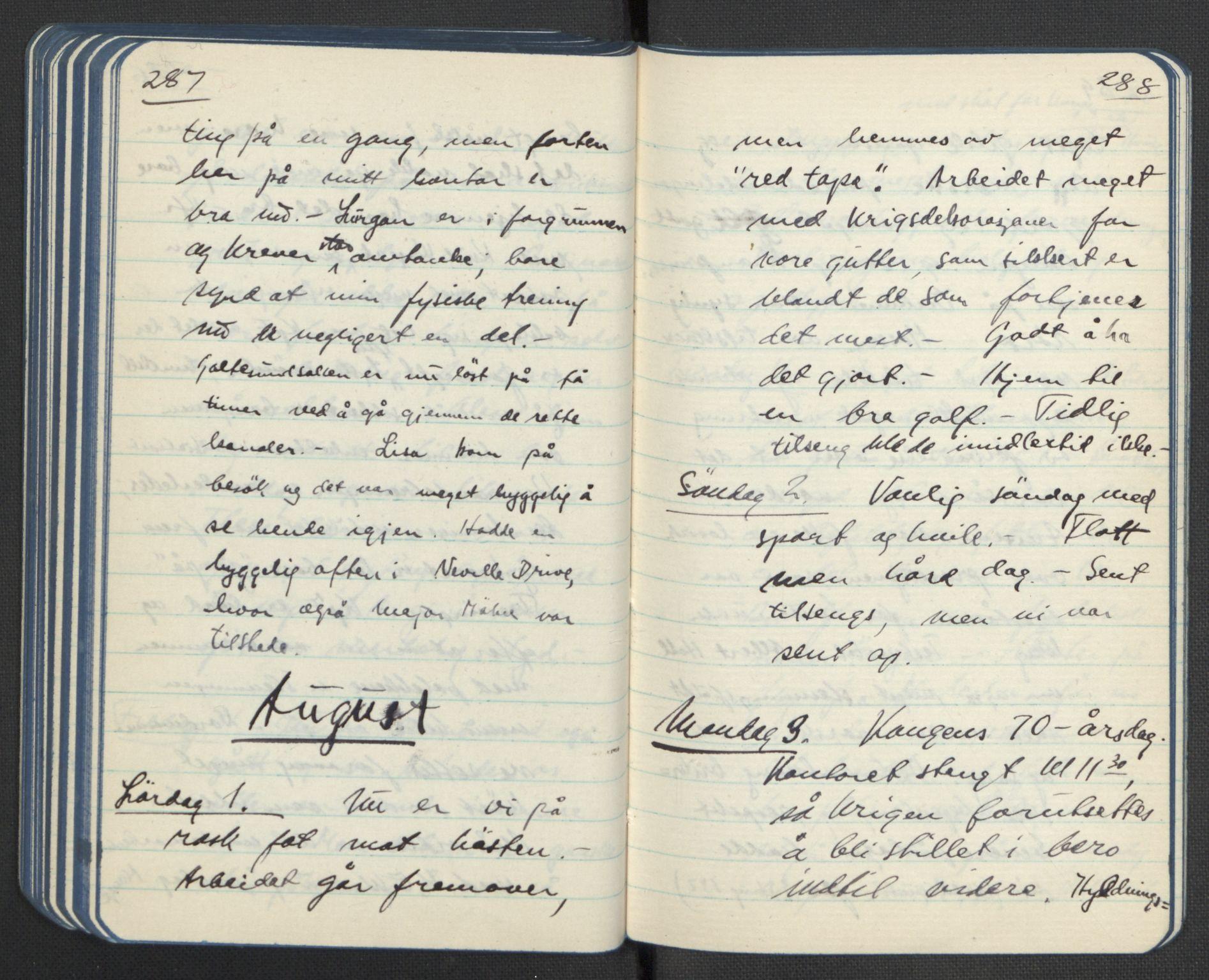 RA, Tronstad, Leif, F/L0001: Dagbøker, 1941-1945, s. 228