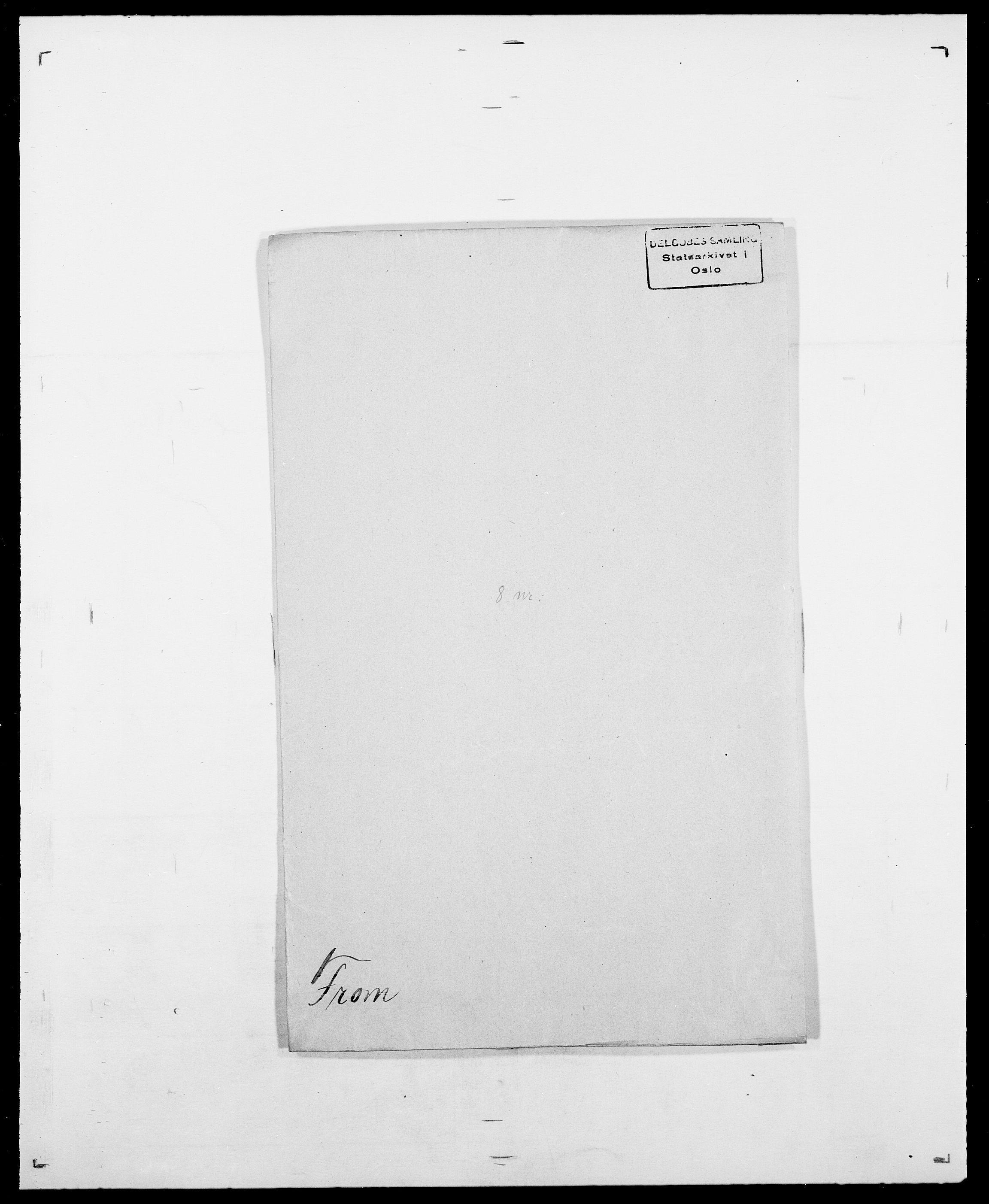 SAO, Delgobe, Charles Antoine - samling, D/Da/L0013: Forbos - Geving, s. 8
