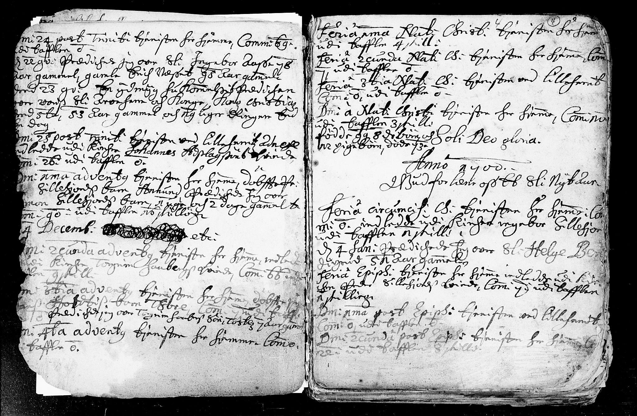 SAKO, Heddal kirkebøker, F/Fa/L0002: Ministerialbok nr. I 2, 1699-1722, s. 4