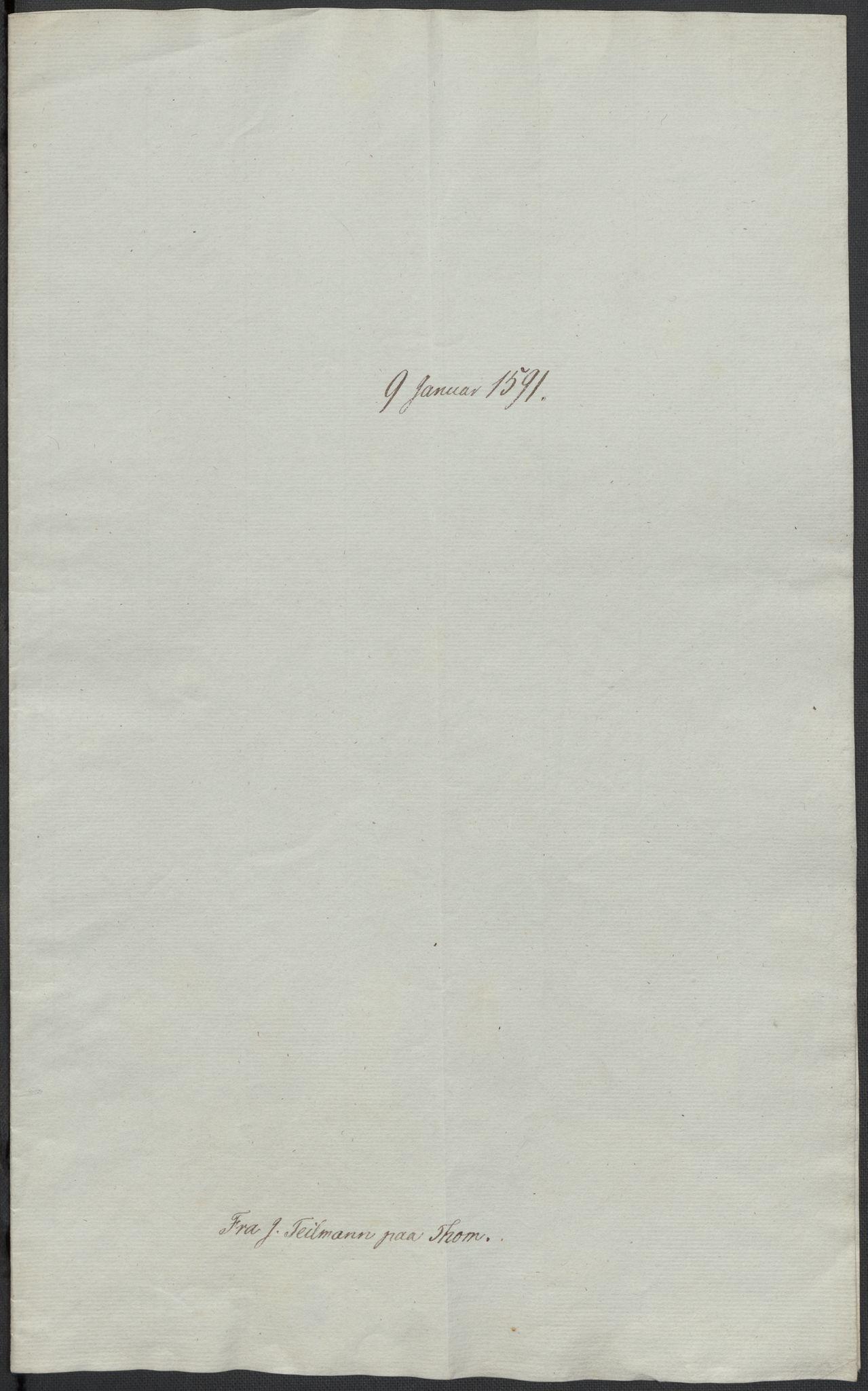 RA, Riksarkivets diplomsamling, F02/L0093: Dokumenter, 1591, s. 7