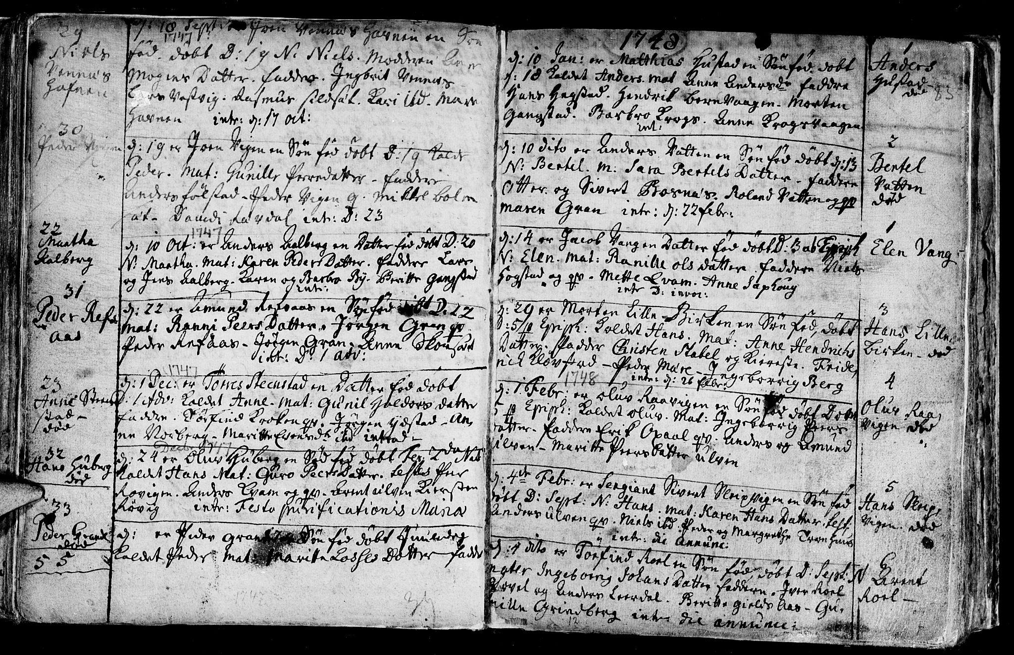 SAT, Ministerialprotokoller, klokkerbøker og fødselsregistre - Nord-Trøndelag, 730/L0272: Ministerialbok nr. 730A01, 1733-1764, s. 83