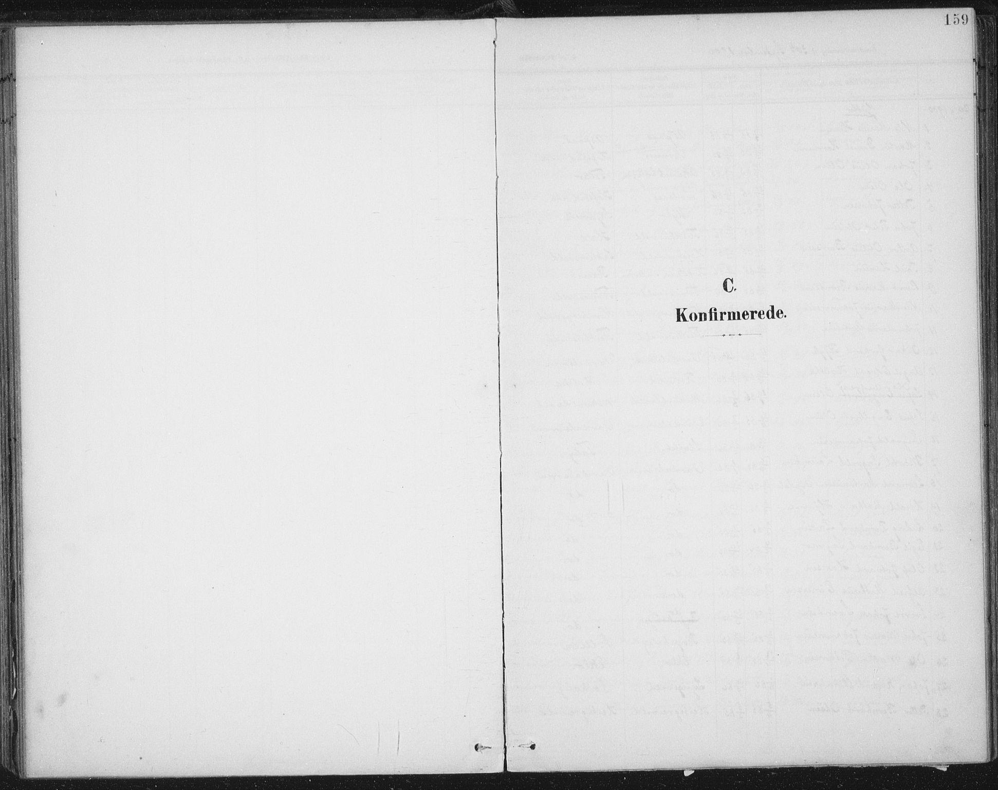 SAT, Ministerialprotokoller, klokkerbøker og fødselsregistre - Nord-Trøndelag, 723/L0246: Ministerialbok nr. 723A15, 1900-1917, s. 159