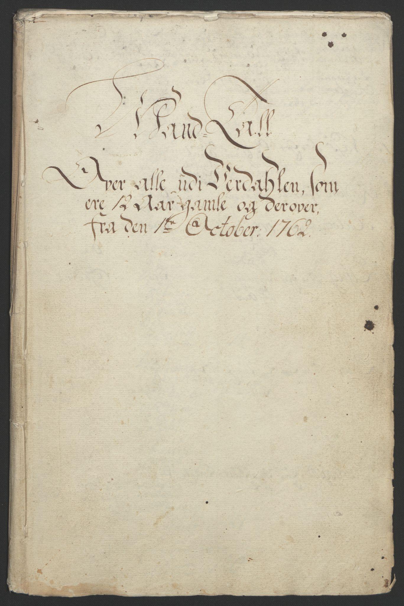 RA, Rentekammeret inntil 1814, Reviderte regnskaper, Fogderegnskap, R62/L4303: Ekstraskatten Stjørdal og Verdal, 1762-1763, s. 91