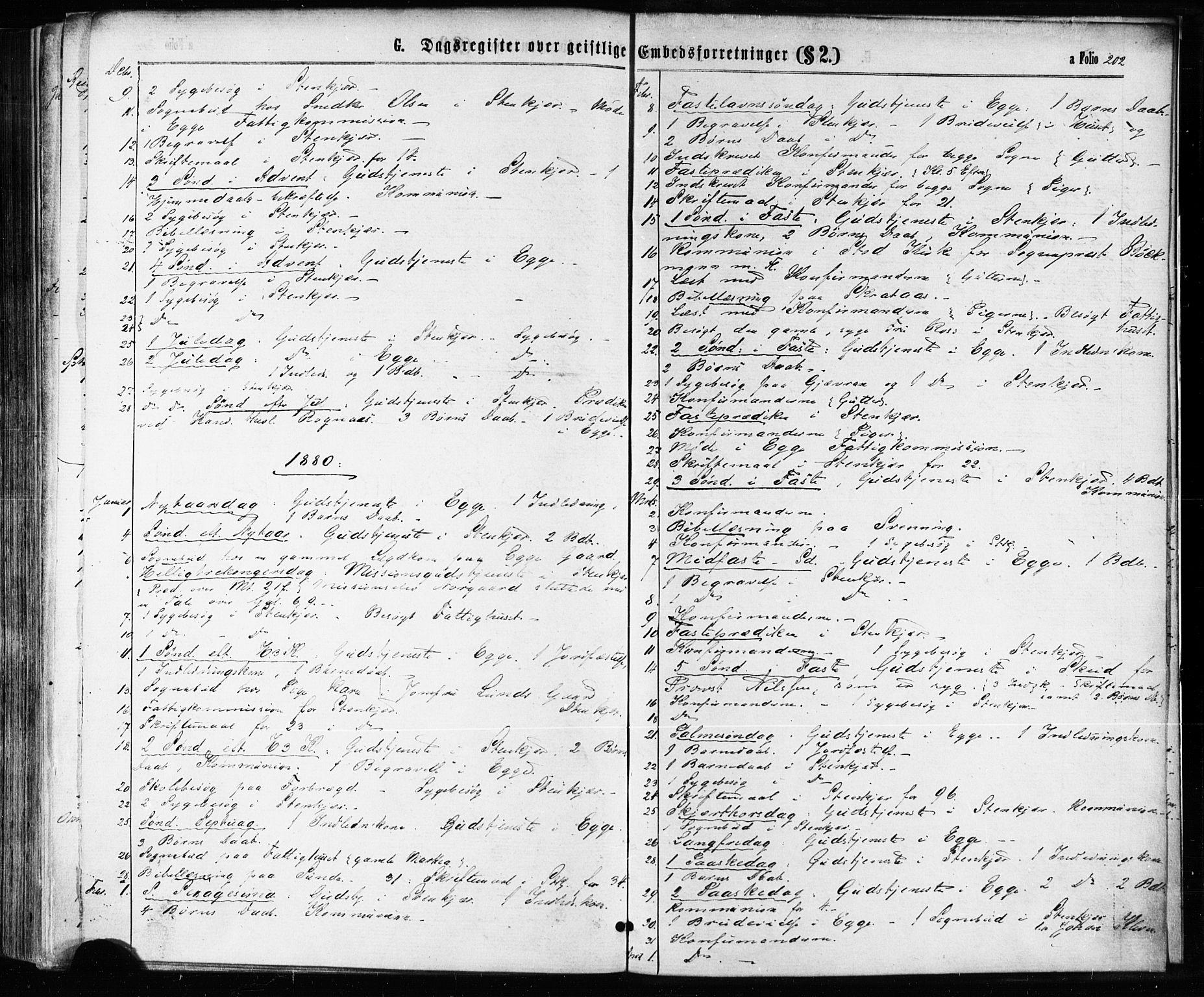 SAT, Ministerialprotokoller, klokkerbøker og fødselsregistre - Nord-Trøndelag, 739/L0370: Ministerialbok nr. 739A02, 1868-1881, s. 202
