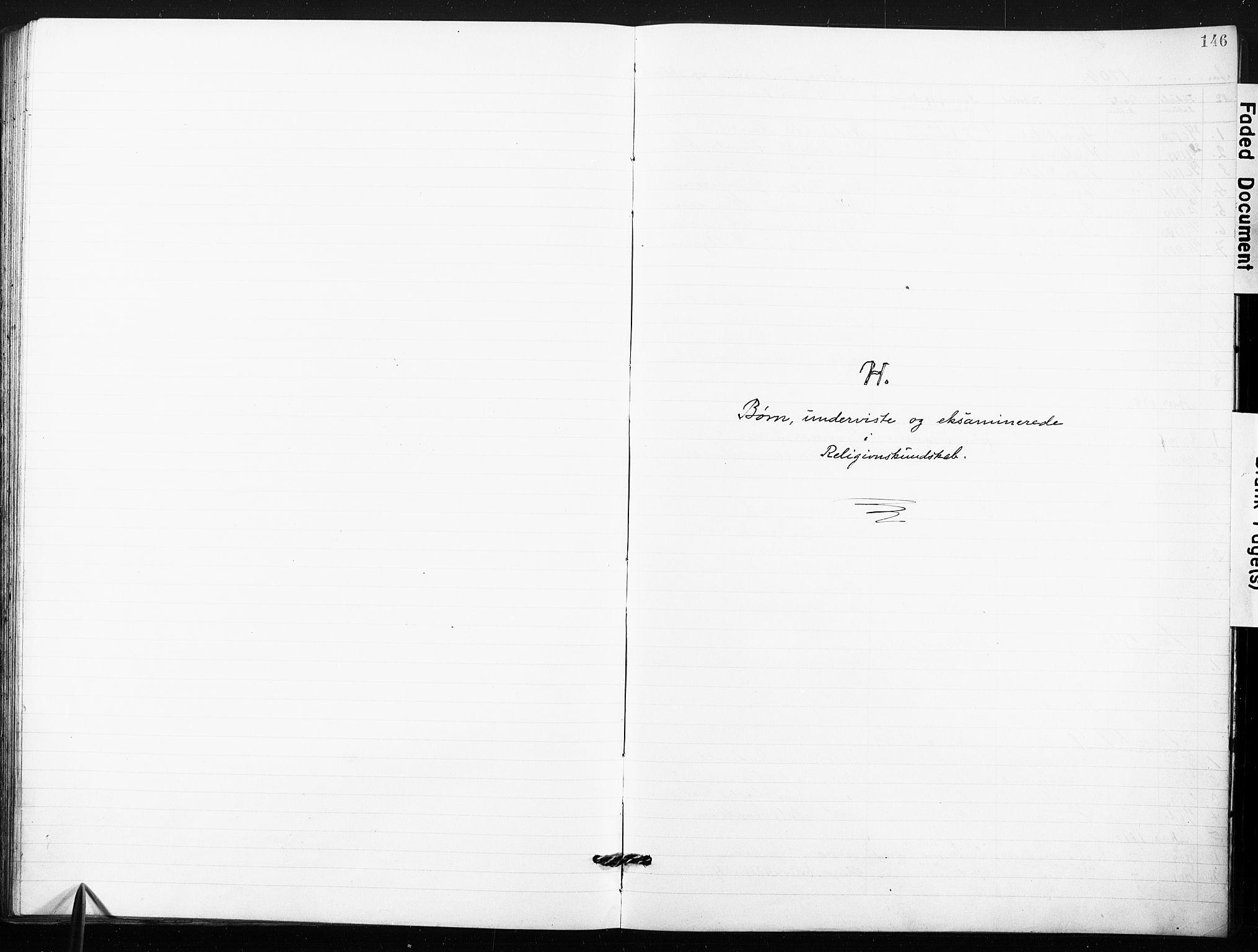 SAO, Kristi menighet Fredrikstad , A/L0002: Dissenterprotokoll nr. 2, 1904-1932, s. 146
