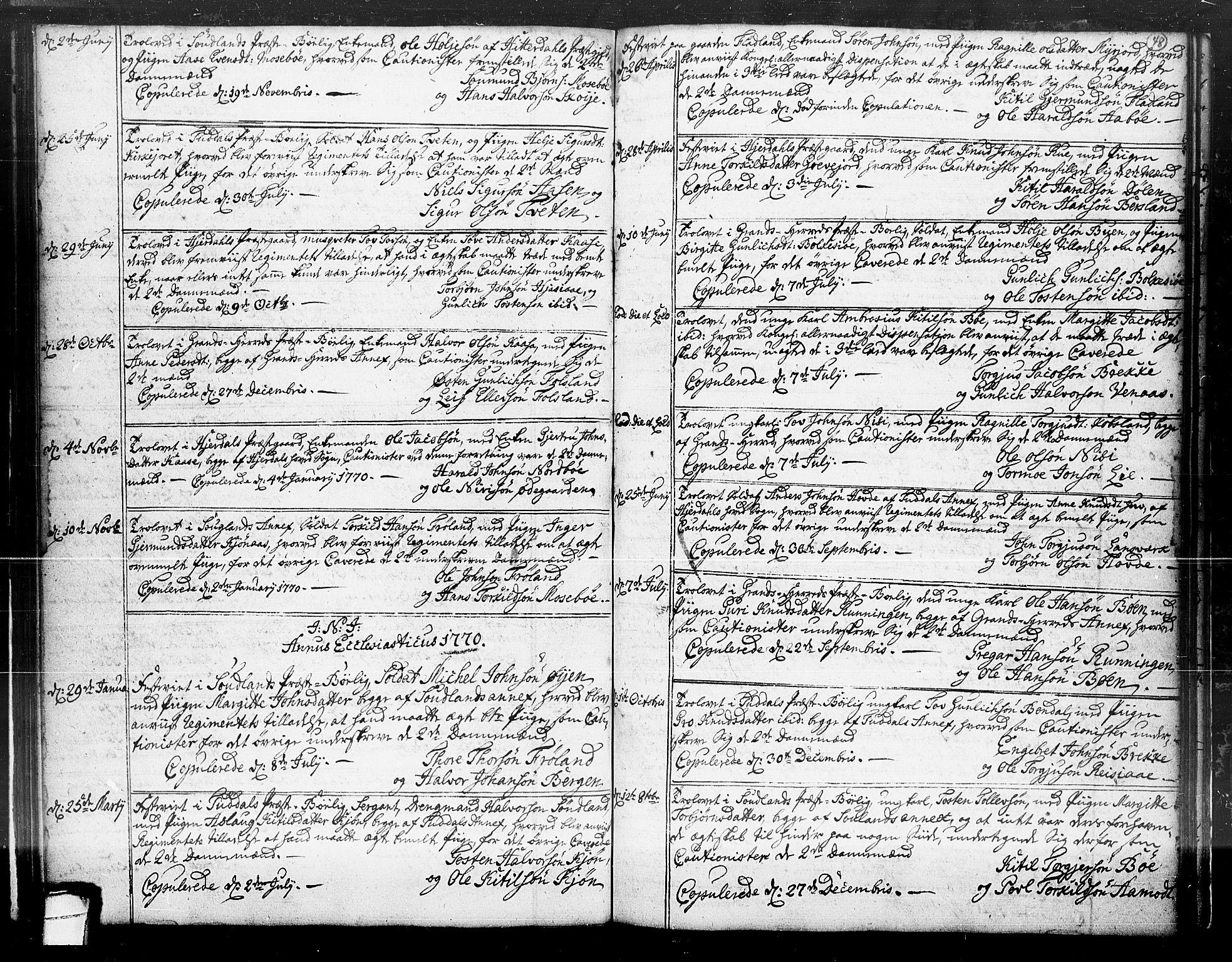 SAKO, Hjartdal kirkebøker, F/Fa/L0004: Ministerialbok nr. I 4, 1727-1795, s. 48