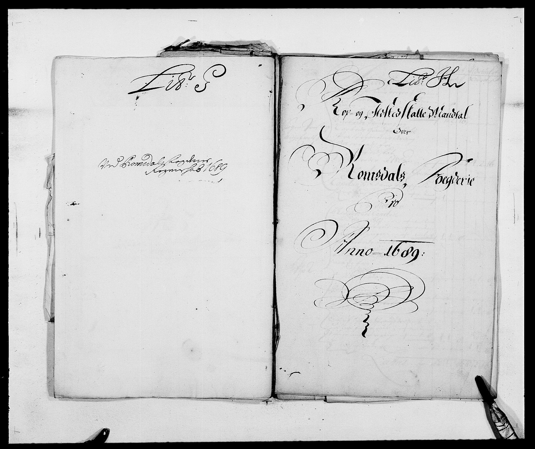 RA, Rentekammeret inntil 1814, Reviderte regnskaper, Fogderegnskap, R55/L3648: Fogderegnskap Romsdal, 1687-1689, s. 354