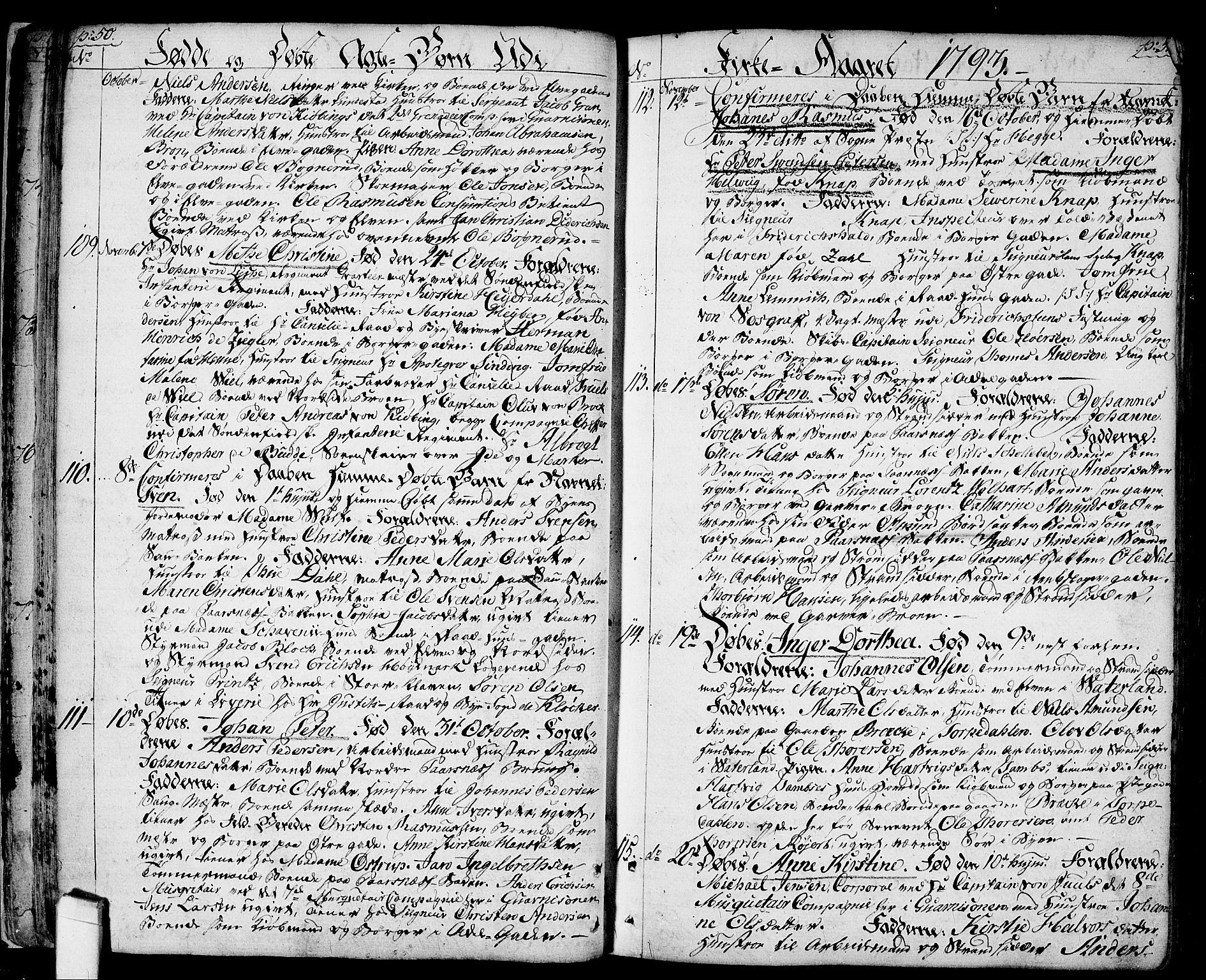 SAO, Halden prestekontor Kirkebøker, F/Fa/L0002: Ministerialbok nr. I 2, 1792-1812, s. 50-51
