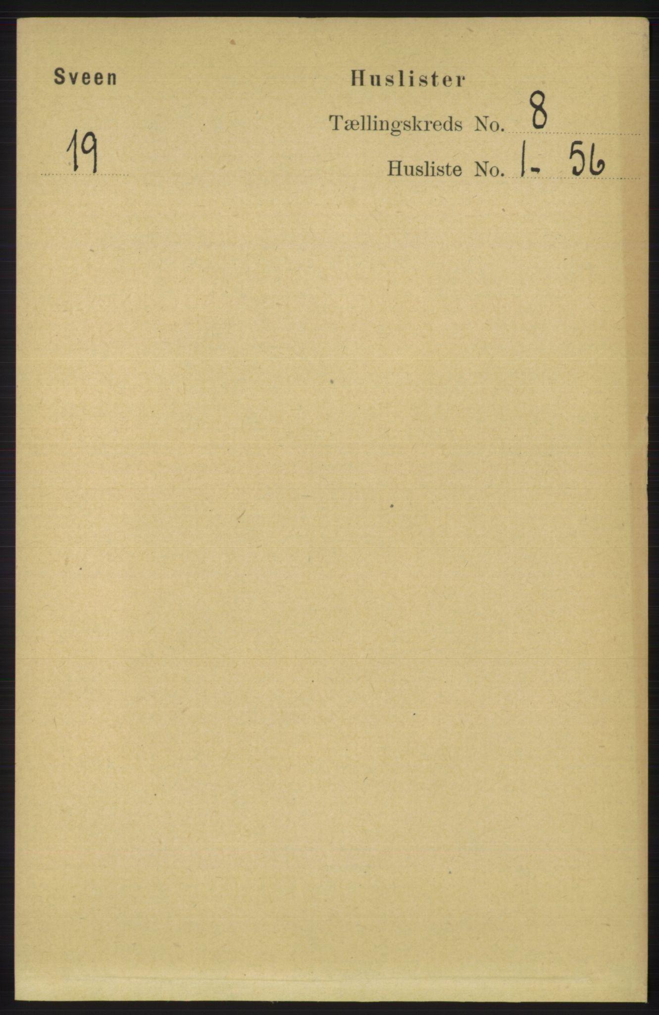 RA, Folketelling 1891 for 1216 Sveio herred, 1891, s. 2294