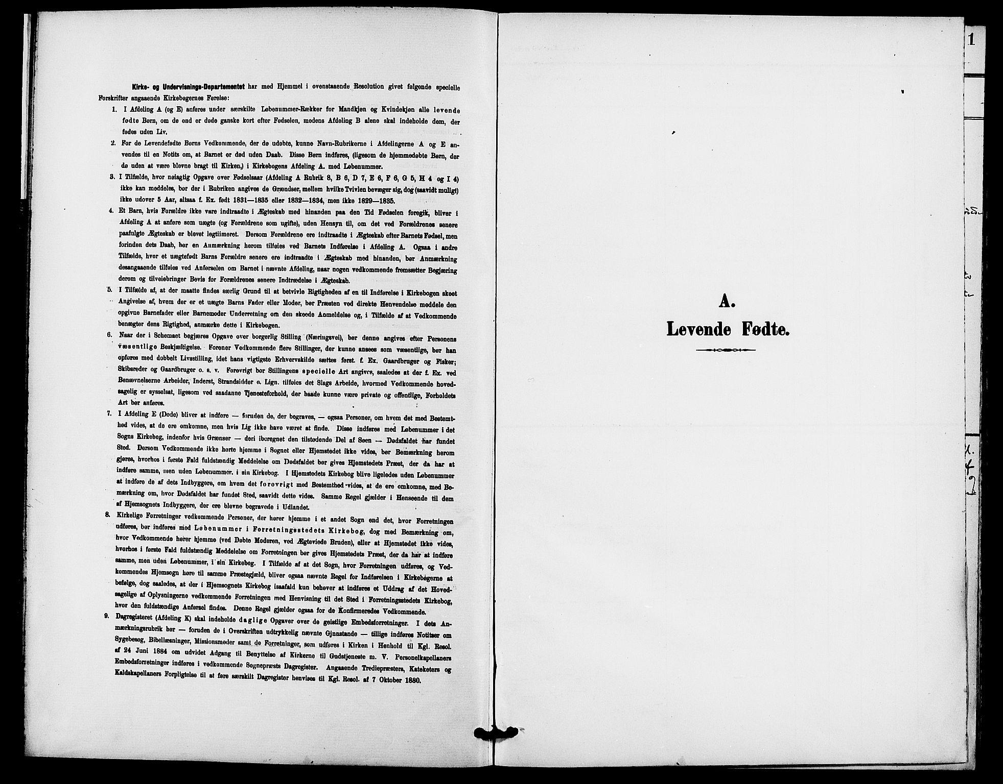 SAH, Rendalen prestekontor, H/Ha/Haa/L0008: Ministerialbok nr. 8, 1898-1910