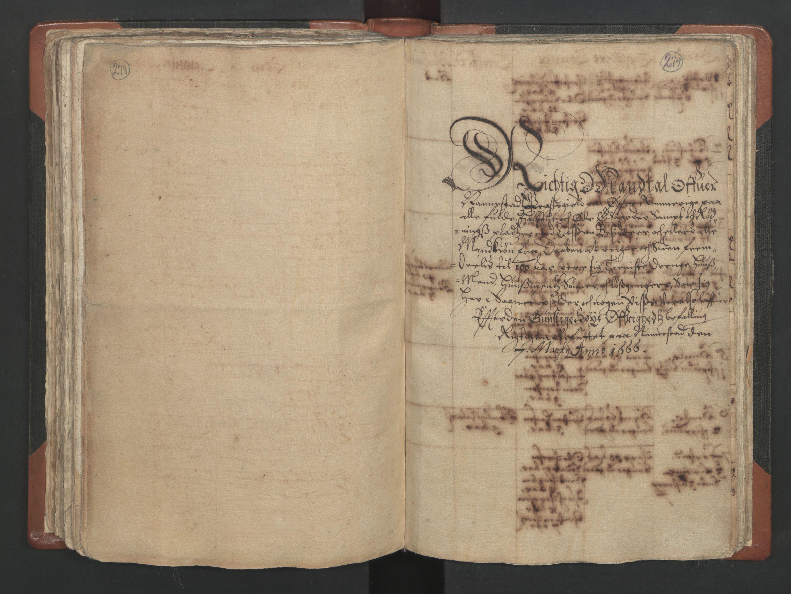 RA, Sogneprestenes manntall 1664-1666, nr. 4: Øvre Romerike prosti, 1664-1666, s. 278-279