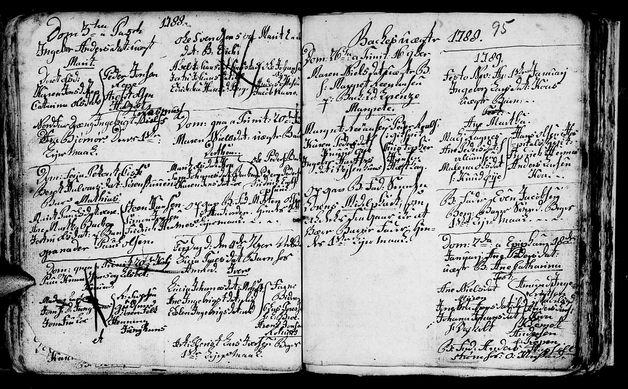 SAT, Ministerialprotokoller, klokkerbøker og fødselsregistre - Sør-Trøndelag, 604/L0218: Klokkerbok nr. 604C01, 1754-1819, s. 95