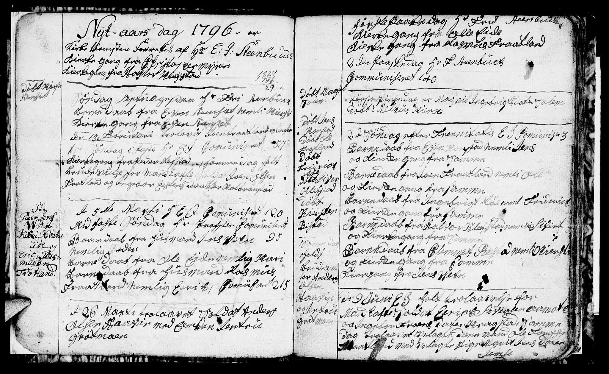 SAT, Ministerialprotokoller, klokkerbøker og fødselsregistre - Sør-Trøndelag, 694/L1129: Klokkerbok nr. 694C01, 1793-1815, s. 8