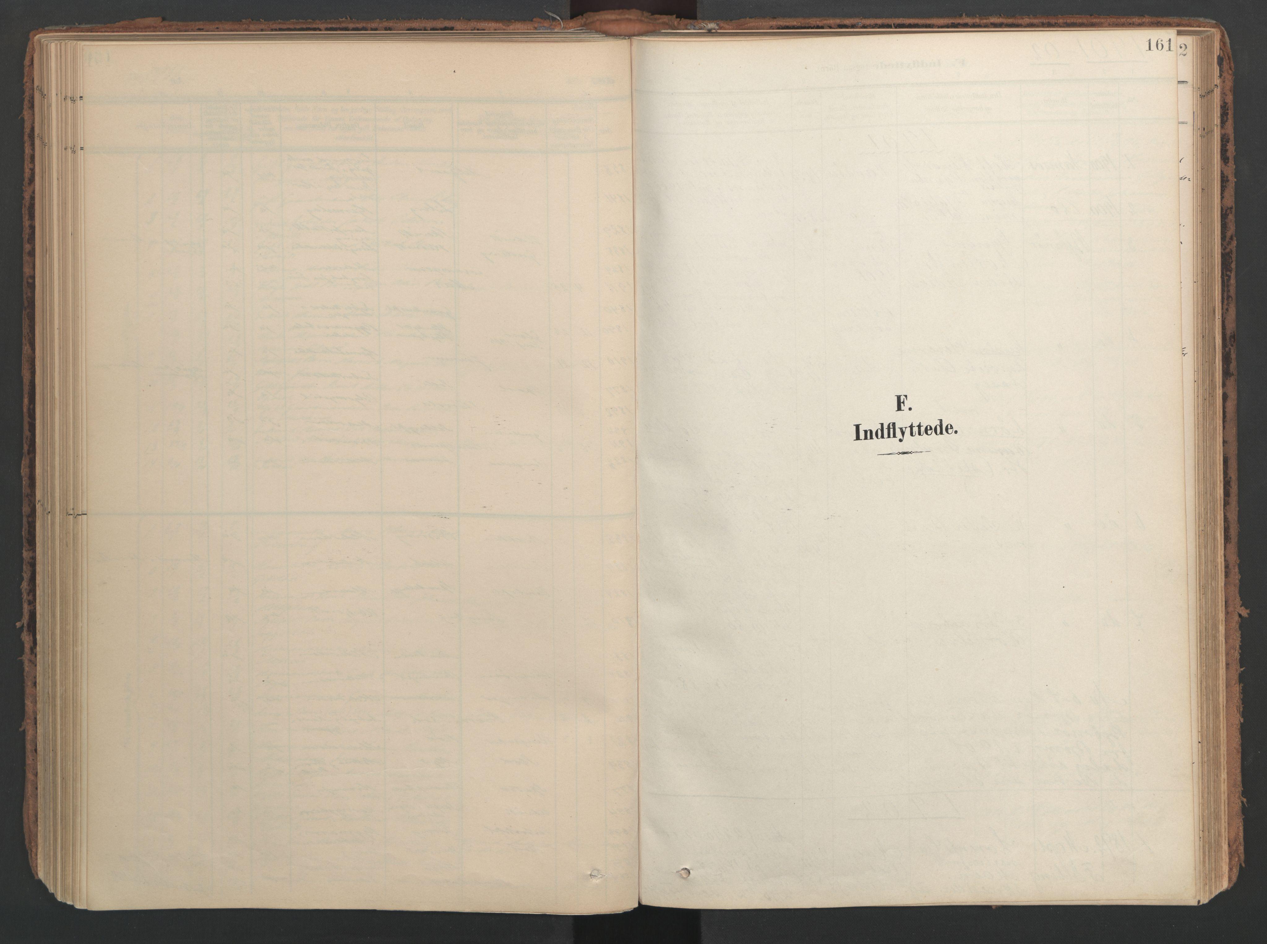 SAT, Ministerialprotokoller, klokkerbøker og fødselsregistre - Nord-Trøndelag, 741/L0397: Ministerialbok nr. 741A11, 1901-1911, s. 161