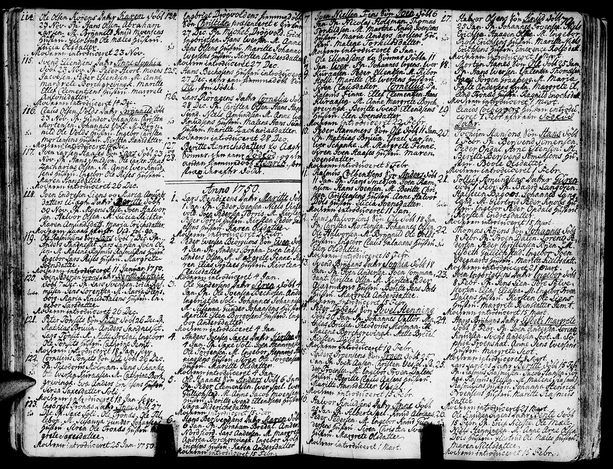 SAT, Ministerialprotokoller, klokkerbøker og fødselsregistre - Sør-Trøndelag, 681/L0925: Ministerialbok nr. 681A03, 1727-1766, s. 70