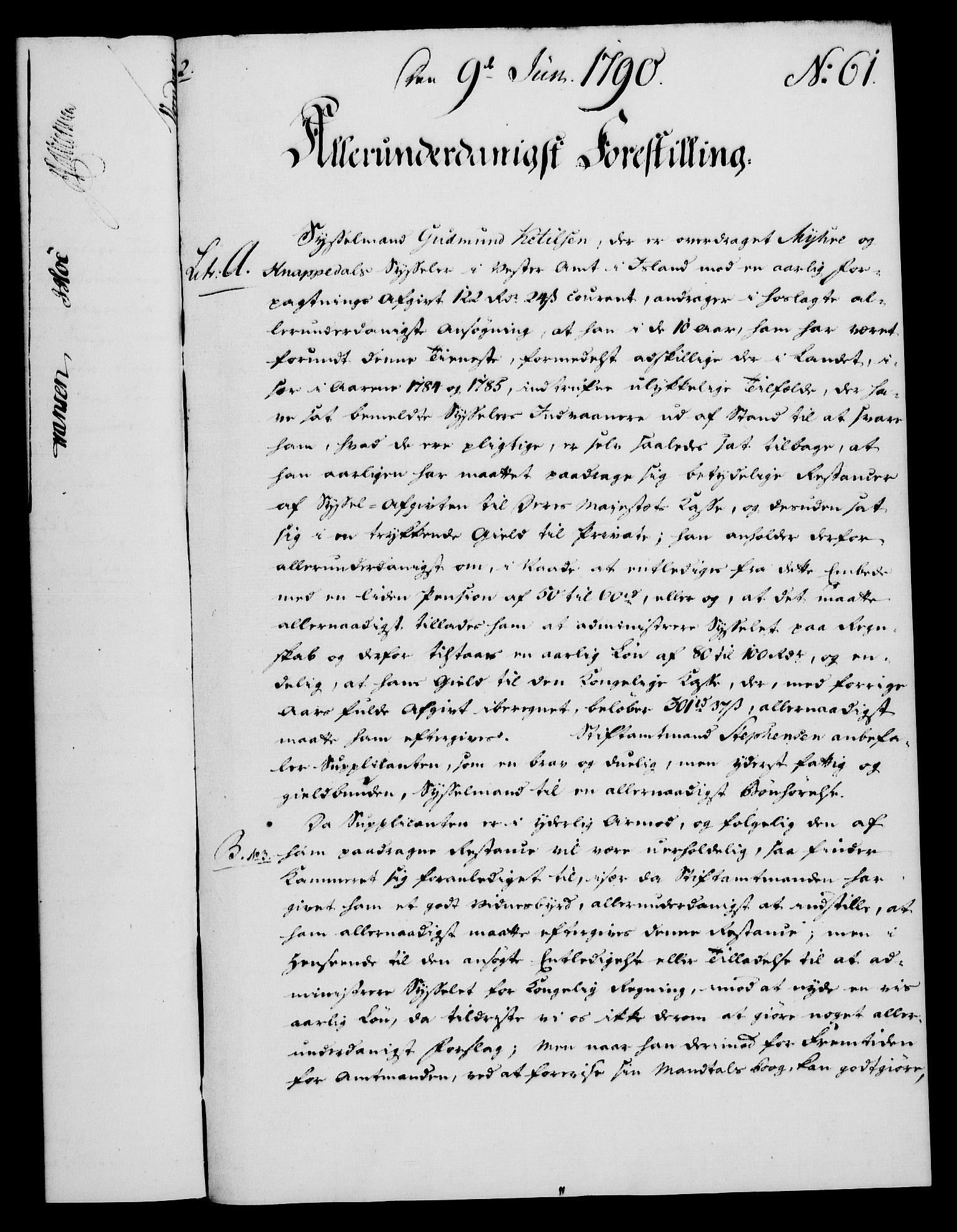 RA, Rentekammeret, Kammerkanselliet, G/Gf/Gfa/L0072: Norsk relasjons- og resolusjonsprotokoll (merket RK 52.72), 1790, s. 351