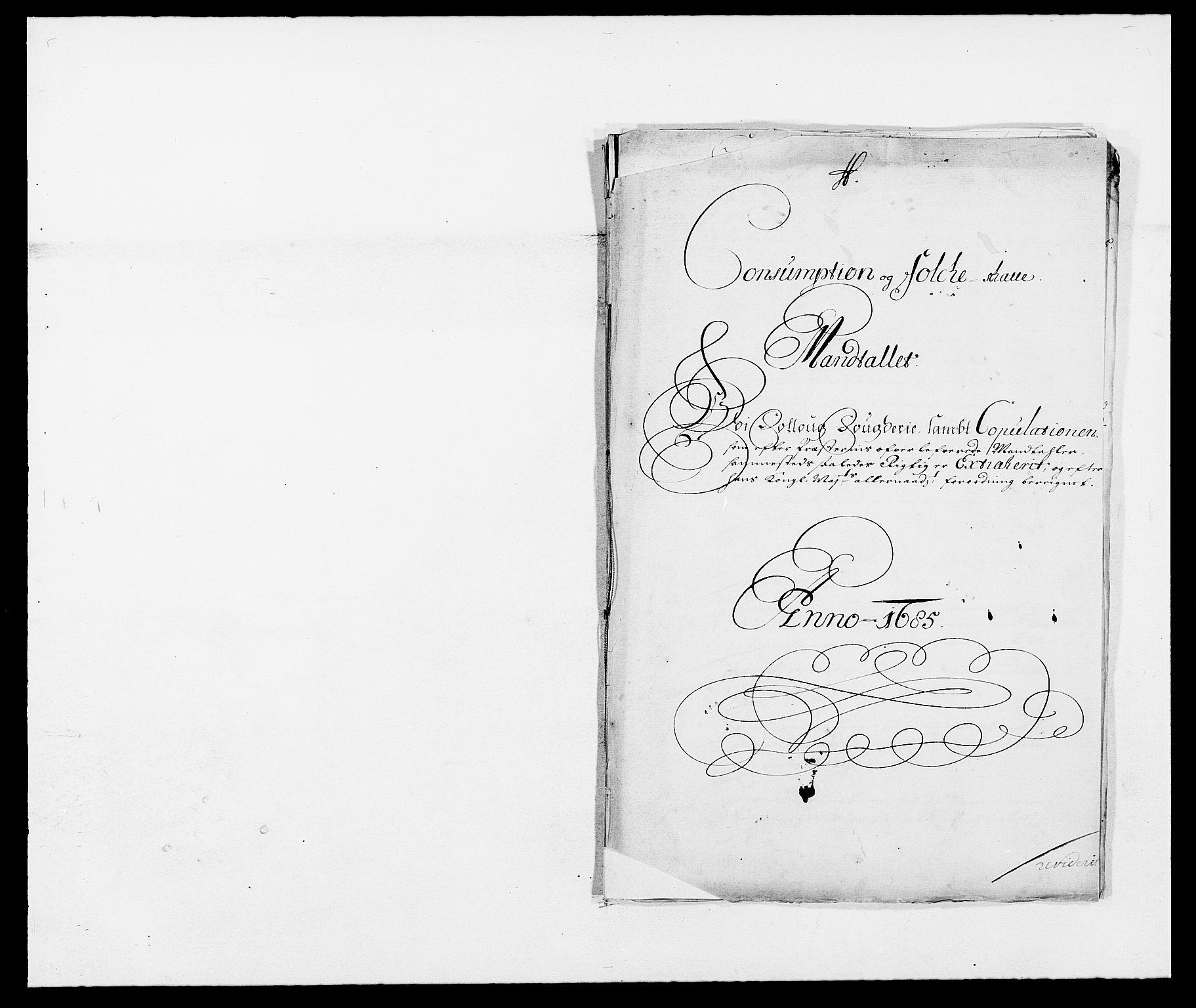 RA, Rentekammeret inntil 1814, Reviderte regnskaper, Fogderegnskap, R09/L0433: Fogderegnskap Follo, 1685-1686, s. 188