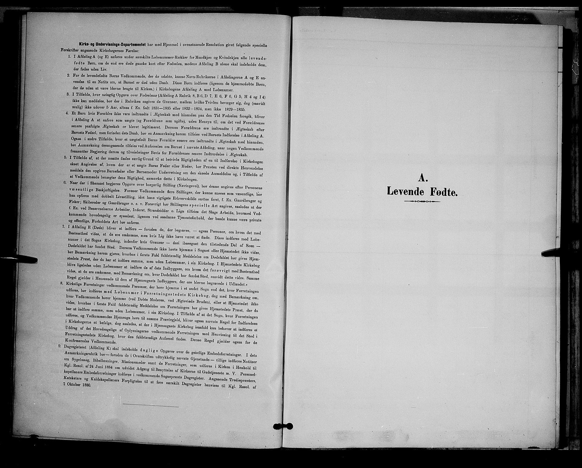 SAH, Østre Toten prestekontor, Klokkerbok nr. 6, 1893-1901