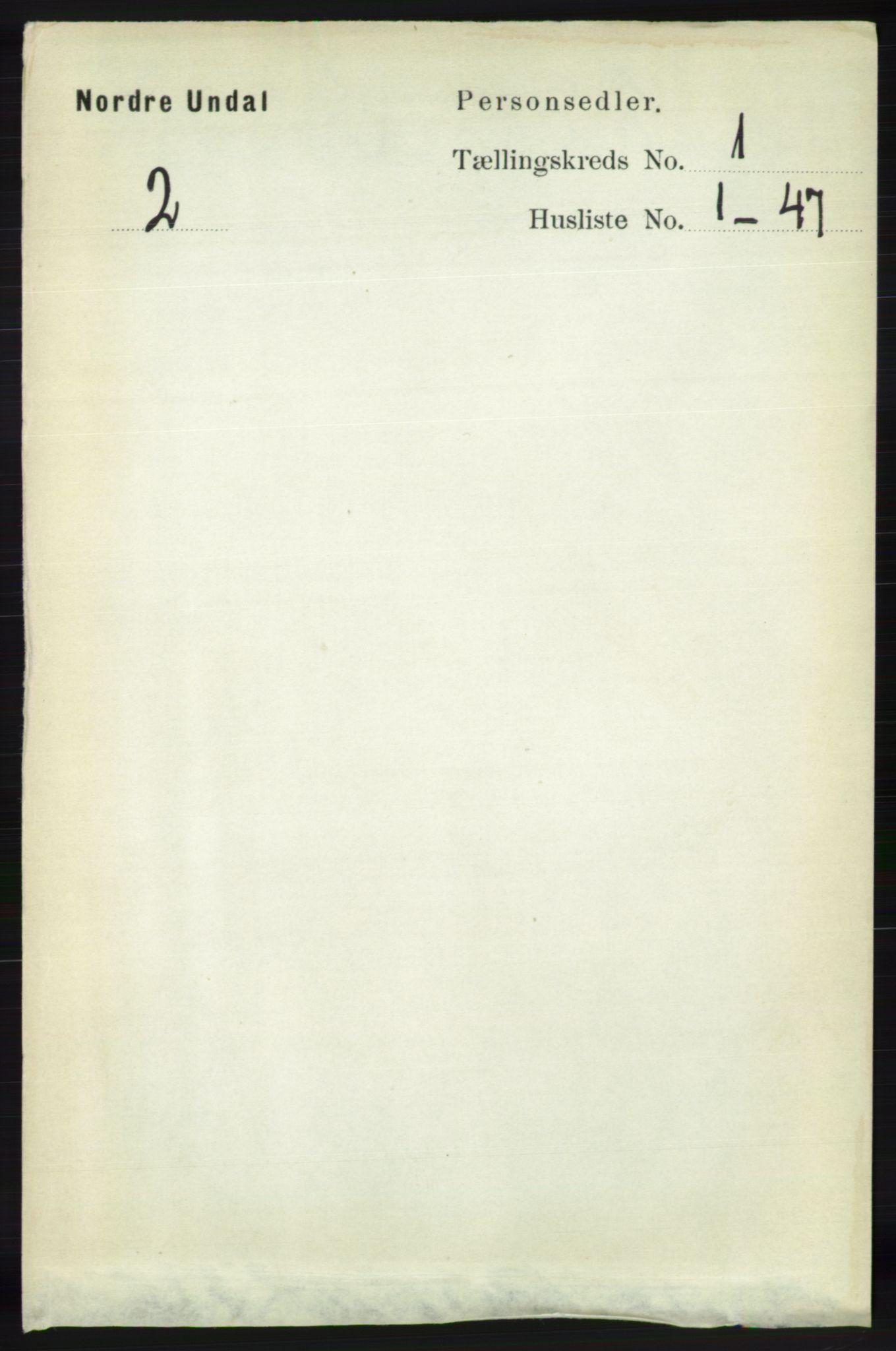 RA, Folketelling 1891 for 1028 Nord-Audnedal herred, 1891, s. 72