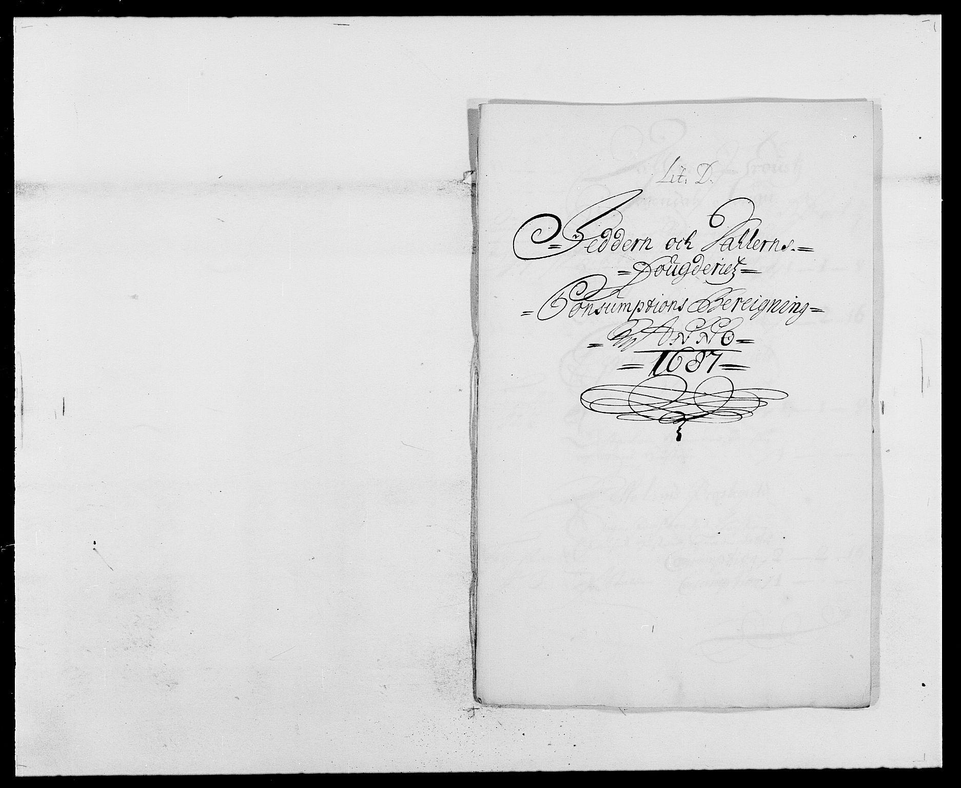 RA, Rentekammeret inntil 1814, Reviderte regnskaper, Fogderegnskap, R46/L2726: Fogderegnskap Jæren og Dalane, 1686-1689, s. 183