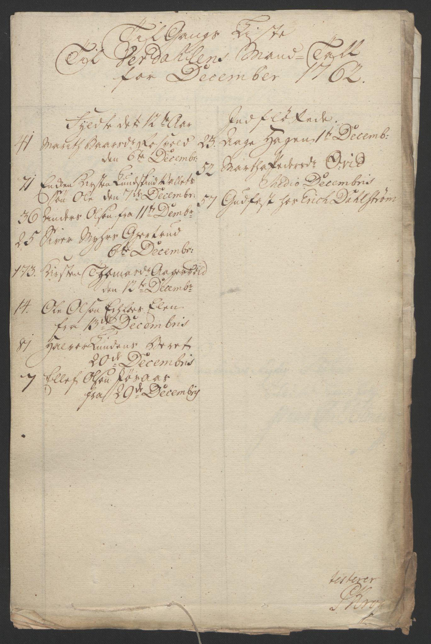 RA, Rentekammeret inntil 1814, Reviderte regnskaper, Fogderegnskap, R62/L4303: Ekstraskatten Stjørdal og Verdal, 1762-1763, s. 253