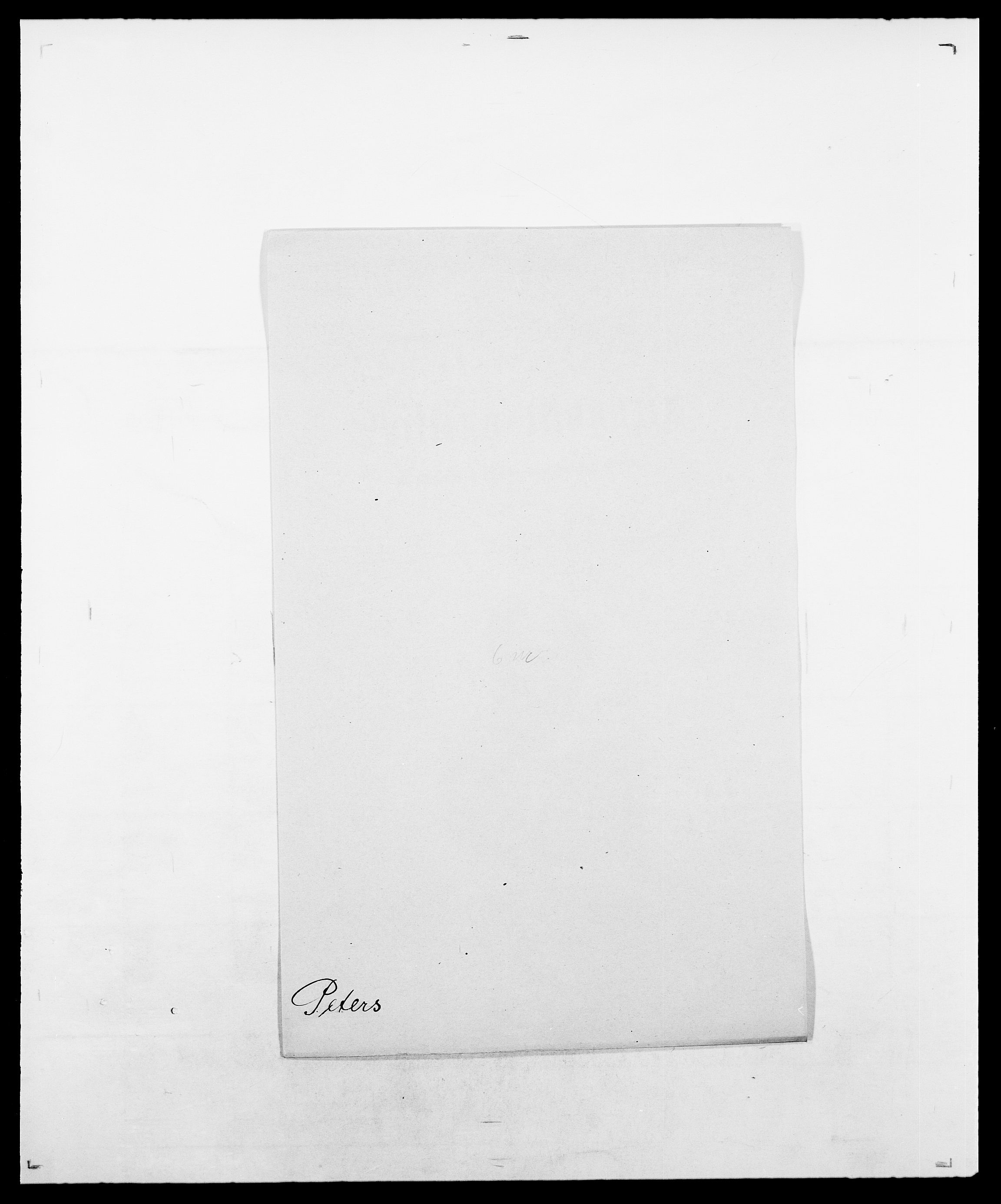 SAO, Delgobe, Charles Antoine - samling, D/Da/L0030: Paars - Pittelkov, s. 375