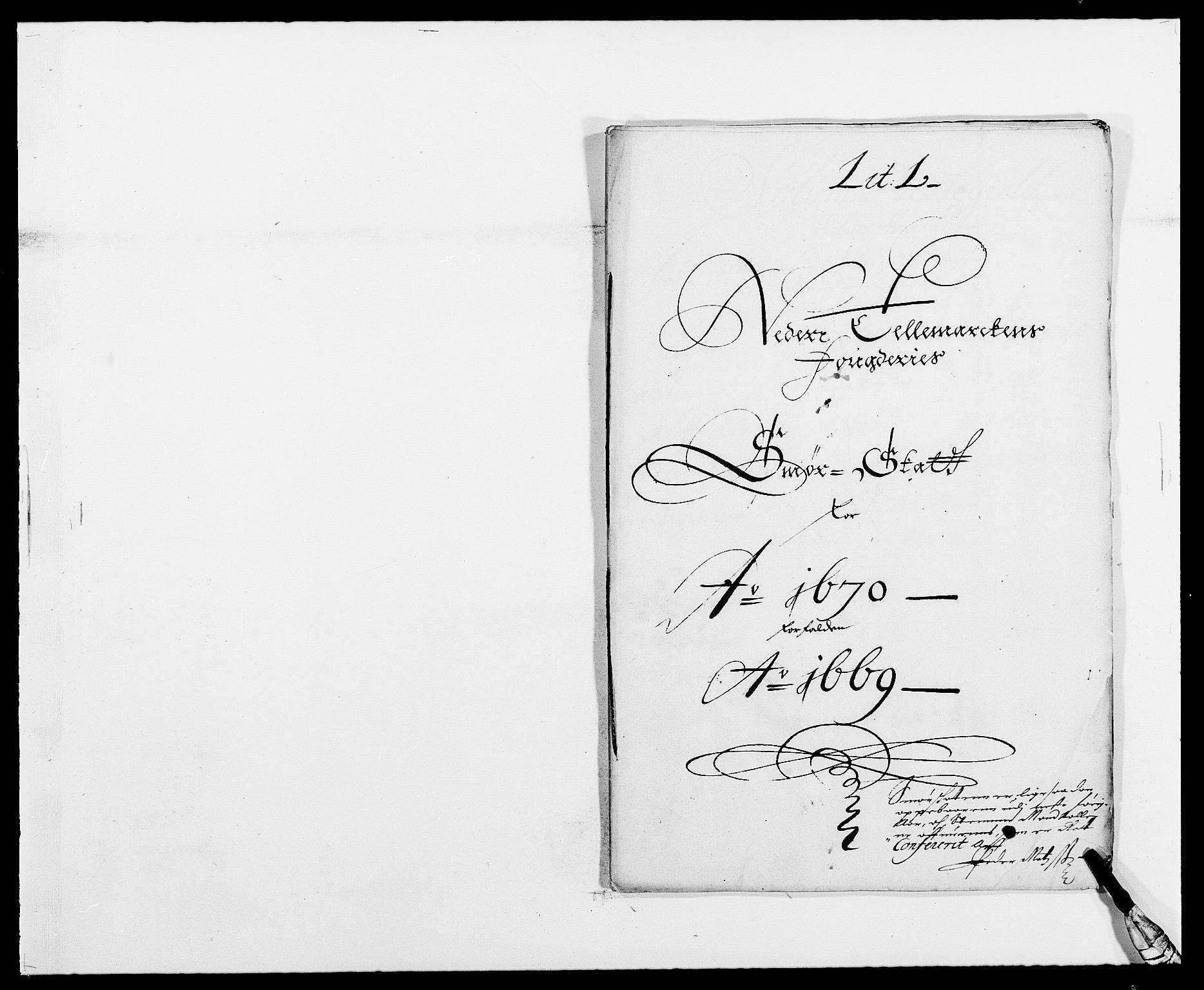RA, Rentekammeret inntil 1814, Reviderte regnskaper, Fogderegnskap, R35/L2058: Fogderegnskap Øvre og Nedre Telemark, 1668-1670, s. 220