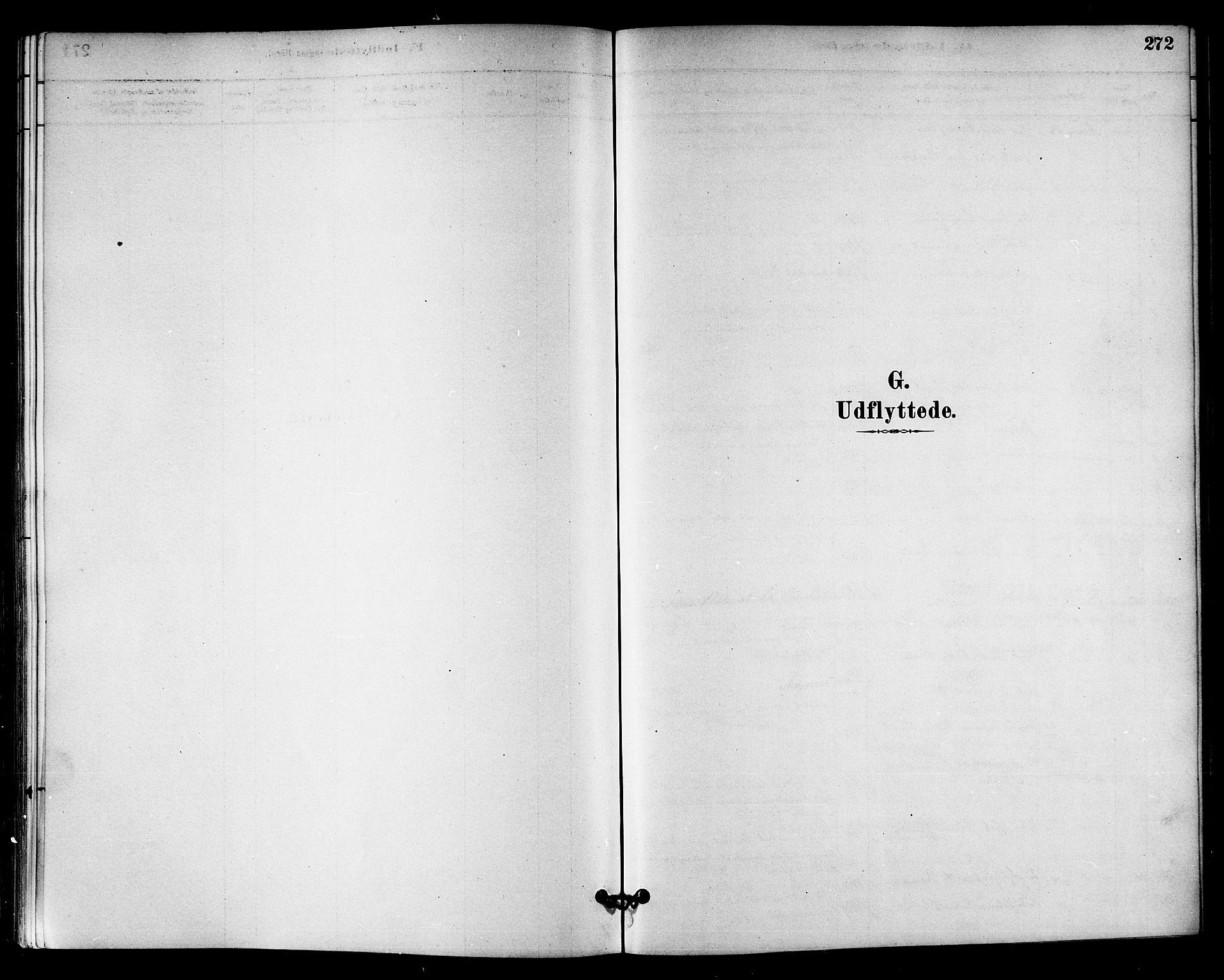 SAT, Ministerialprotokoller, klokkerbøker og fødselsregistre - Sør-Trøndelag, 655/L0680: Ministerialbok nr. 655A09, 1880-1894, s. 272