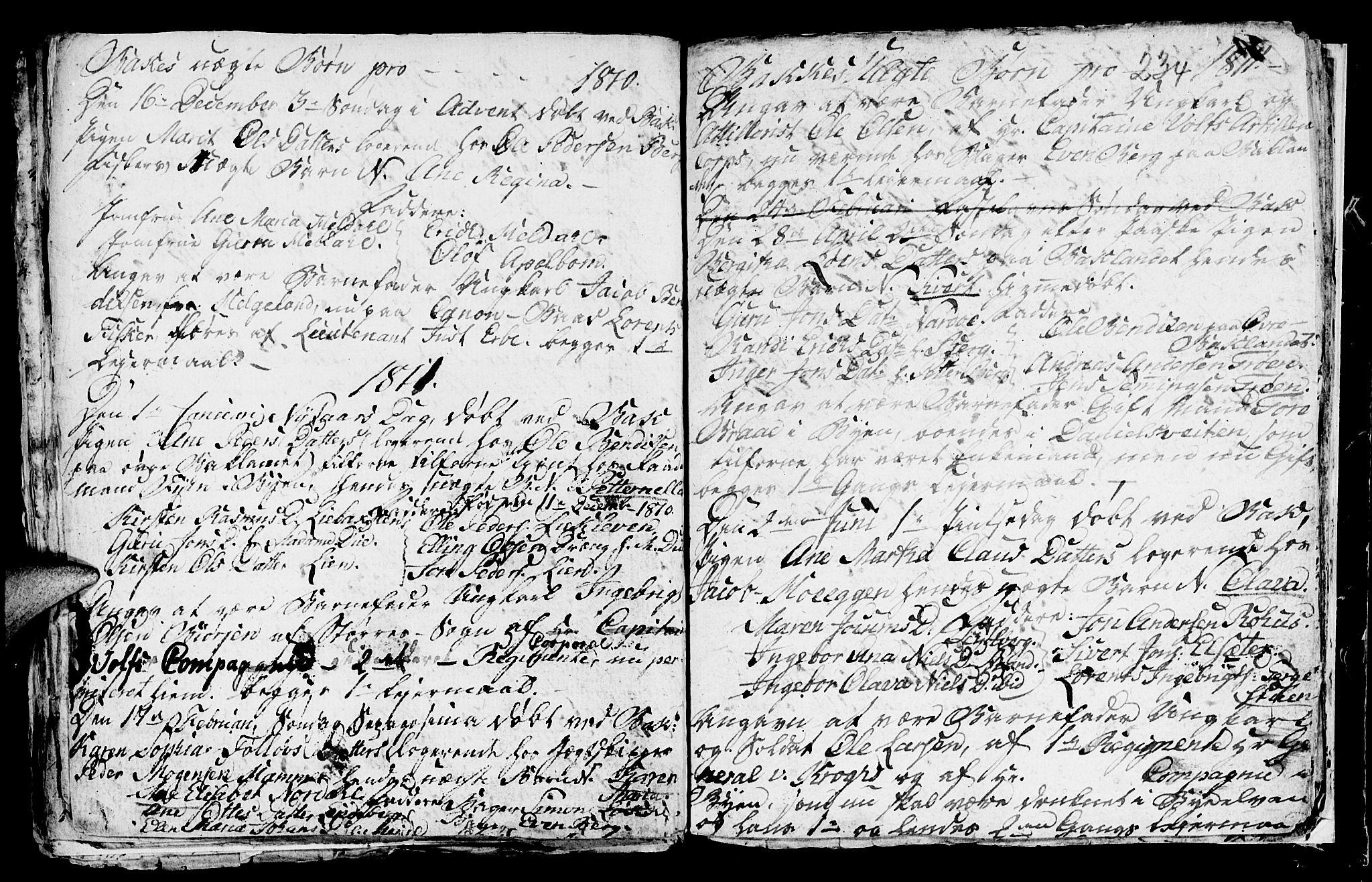 SAT, Ministerialprotokoller, klokkerbøker og fødselsregistre - Sør-Trøndelag, 604/L0218: Klokkerbok nr. 604C01, 1754-1819, s. 234