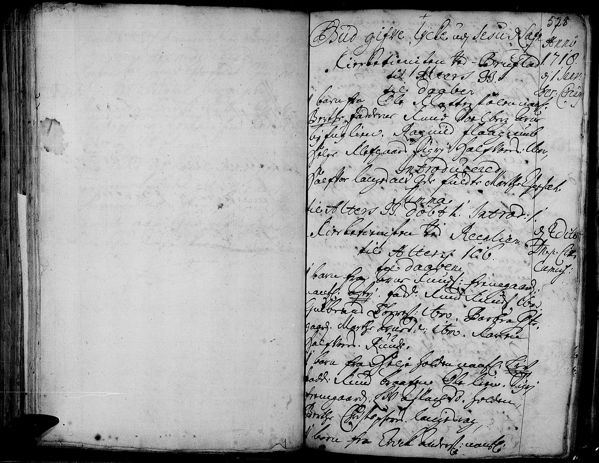 SAH, Aurdal prestekontor, Ministerialbok nr. 1-3, 1692-1730, s. 528