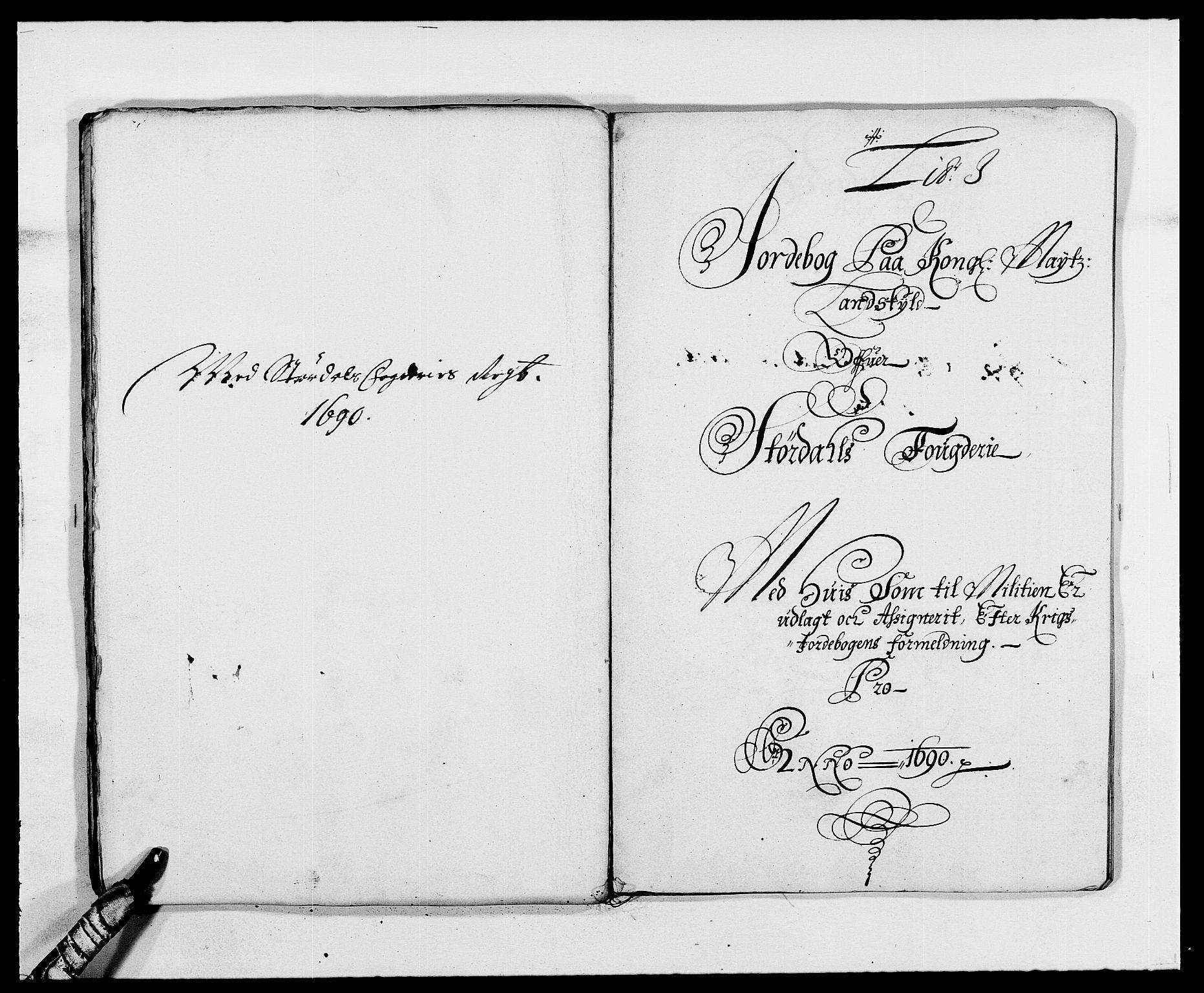 RA, Rentekammeret inntil 1814, Reviderte regnskaper, Fogderegnskap, R62/L4184: Fogderegnskap Stjørdal og Verdal, 1690-1691, s. 141