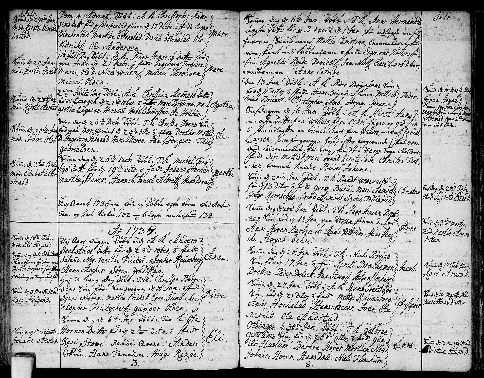 SAO, Asker prestekontor Kirkebøker, F/Fa/L0001: Ministerialbok nr. I 1, 1726-1744, s. 47