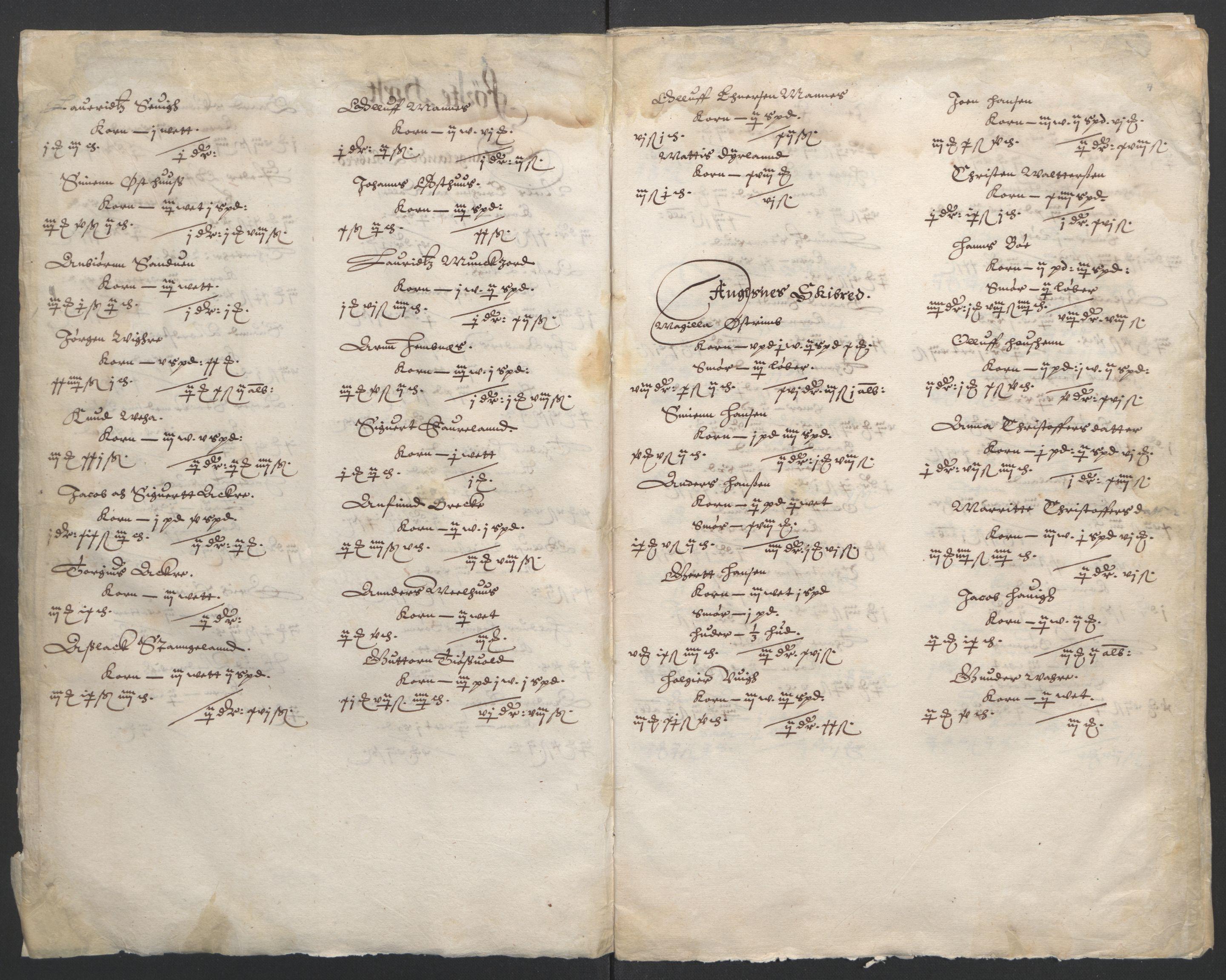 RA, Stattholderembetet 1572-1771, Ek/L0010: Jordebøker til utlikning av rosstjeneste 1624-1626:, 1624-1626, s. 69