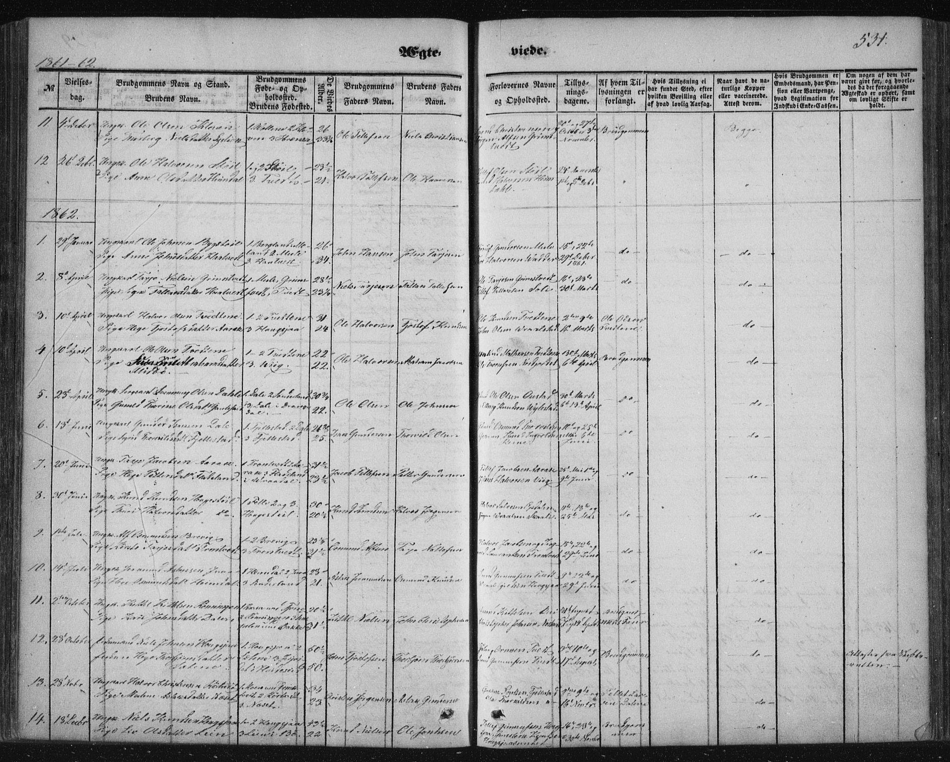 SAKO, Nissedal kirkebøker, F/Fa/L0003: Ministerialbok nr. I 3, 1846-1870, s. 530-531