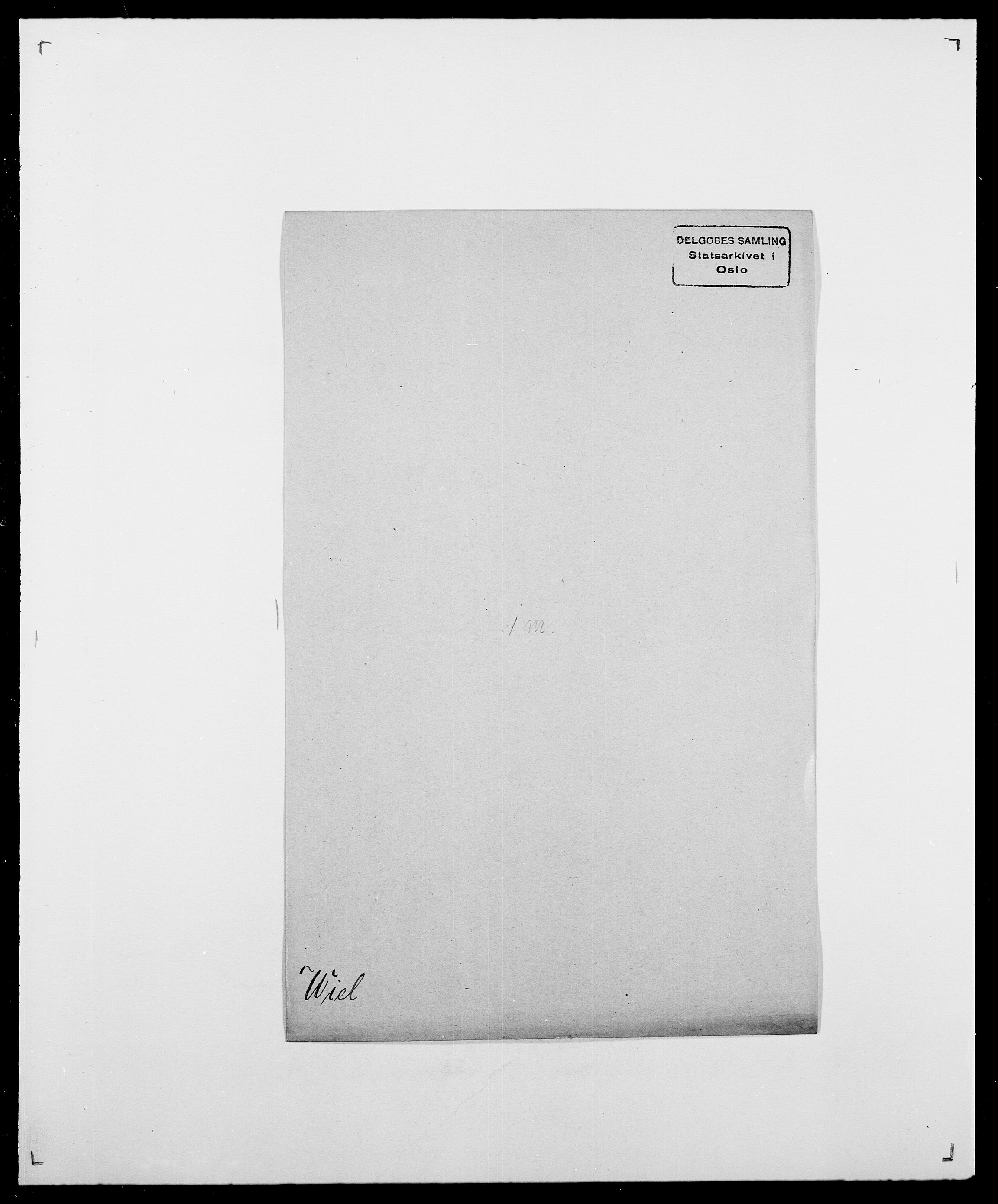 SAO, Delgobe, Charles Antoine - samling, D/Da/L0041: Vemmestad - Viker, s. 488