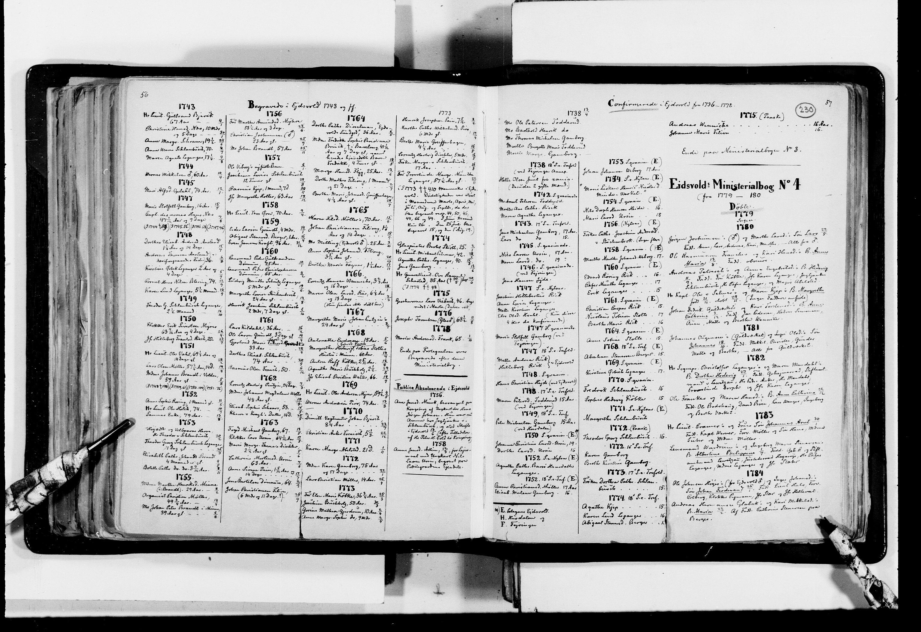RA, Lassens samlinger, F/Fc, s. 230