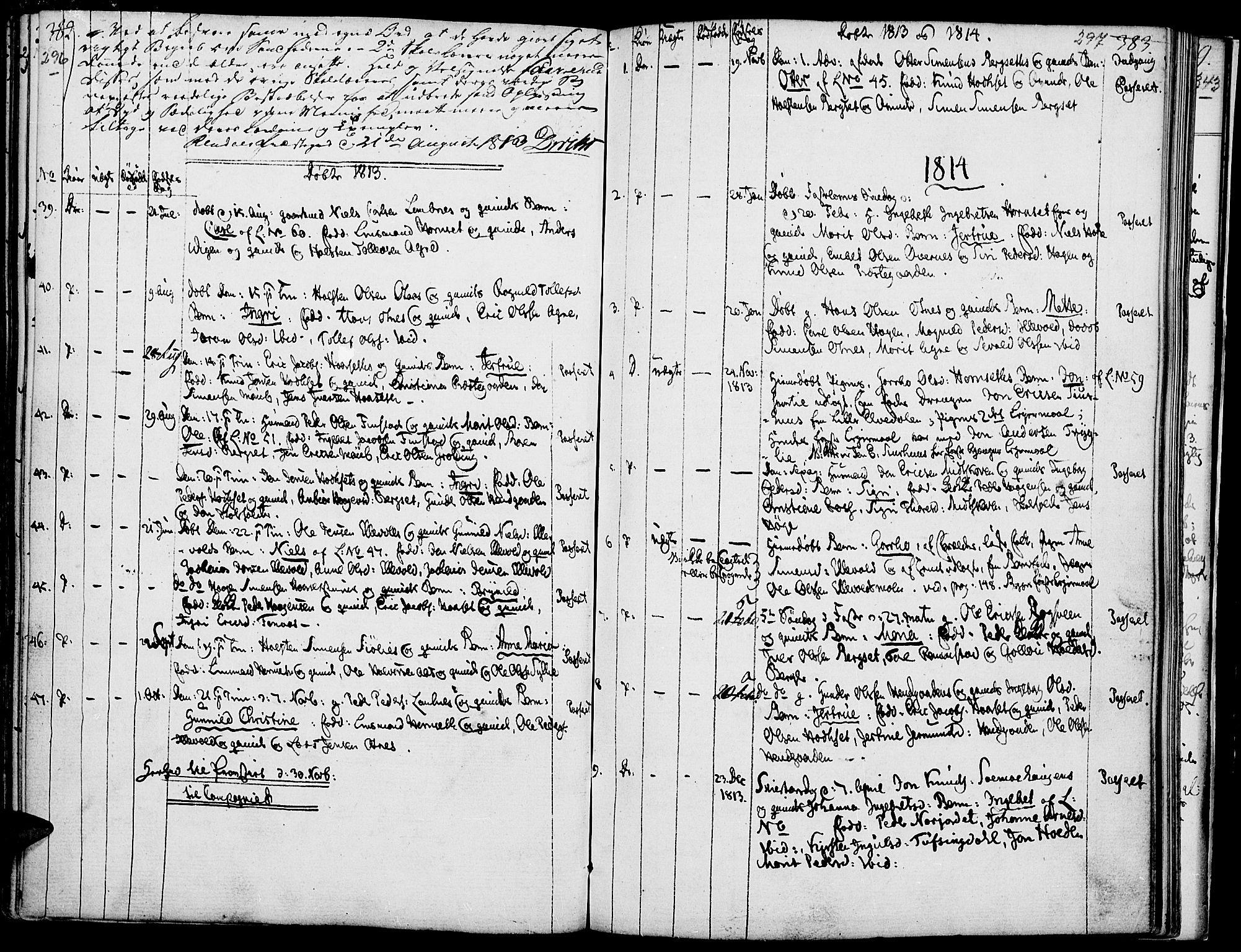 SAH, Rendalen prestekontor, H/Ha/Haa/L0002: Ministerialbok nr. 2, 1788-1814, s. 296-297